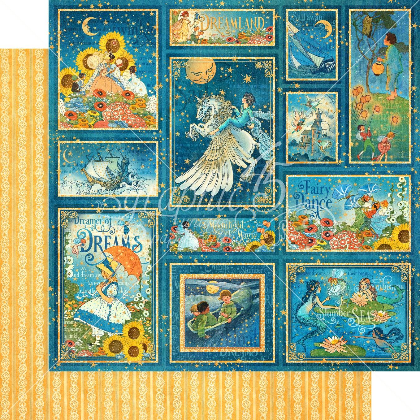 Dreamland-Stars Aligned 12x12 paper