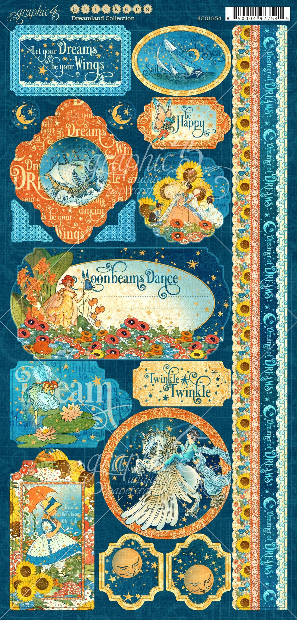 Dreamland Cardstock Stickers