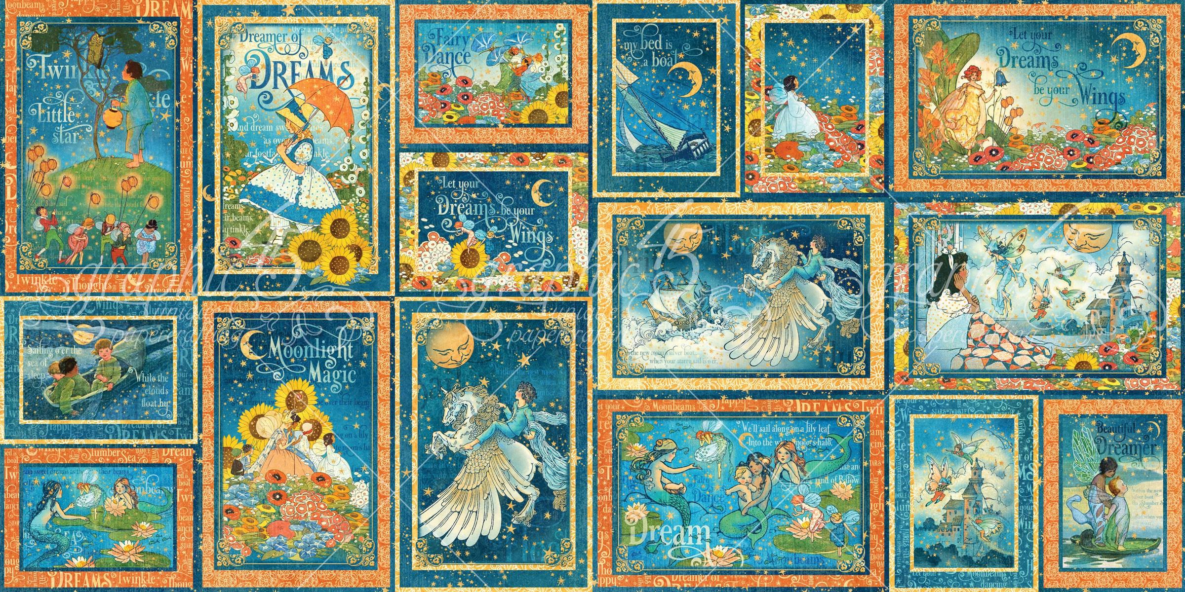 Dreamland Ephemera Cards