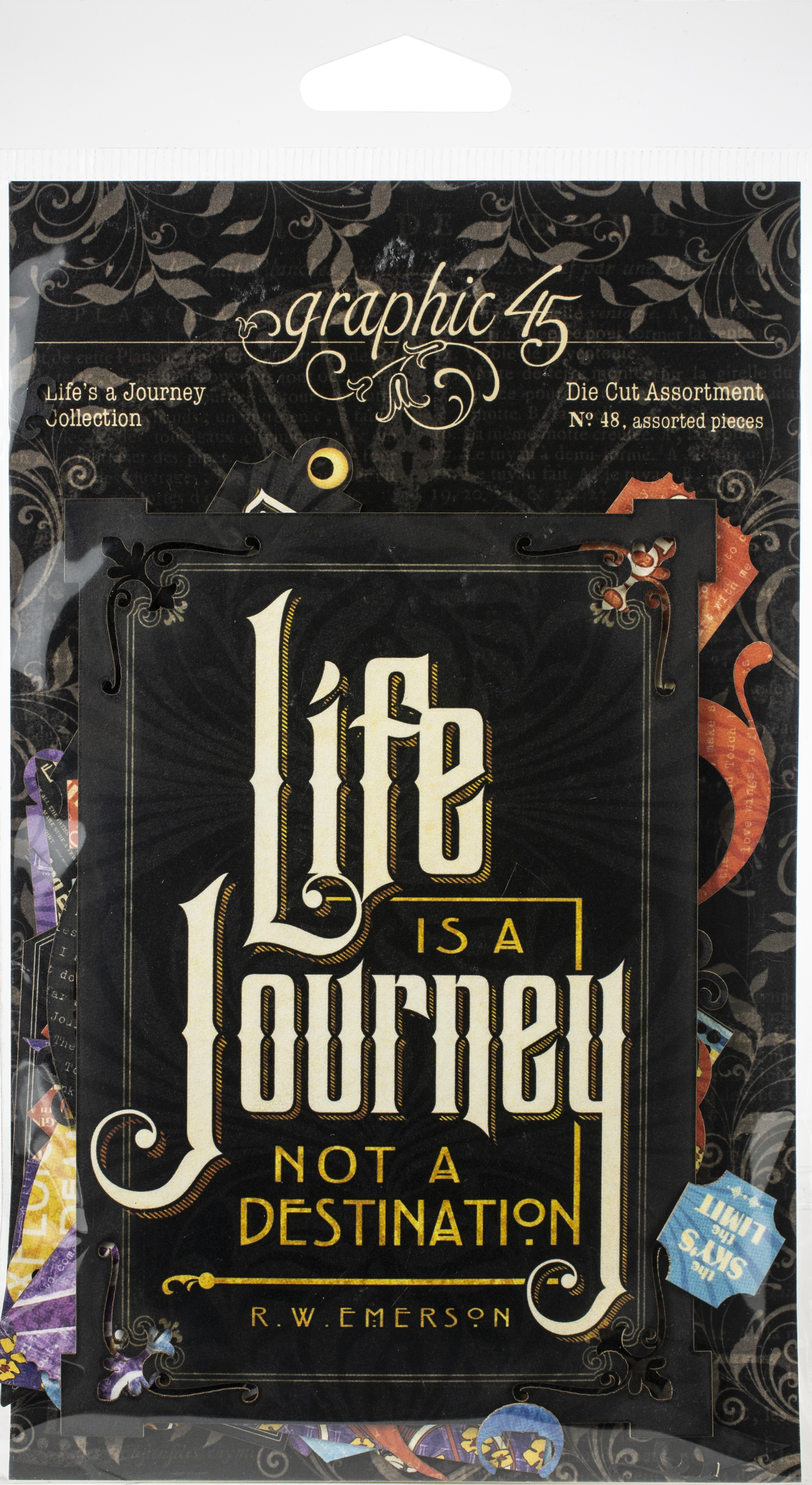 Life's A Journey Cardstock Die-Cut Assortment-