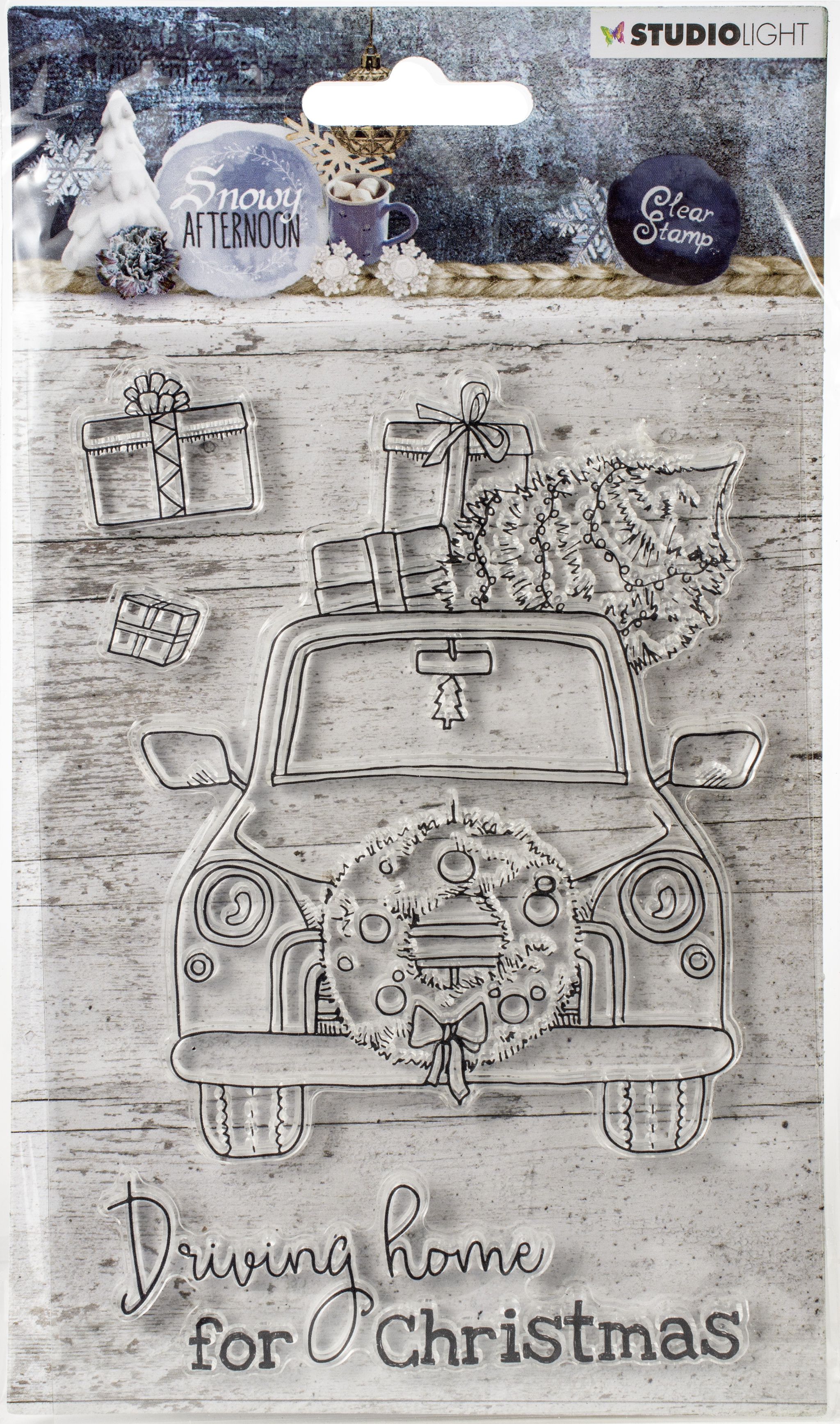Studio Light Snowy Afternoon Clear Stamps-NR