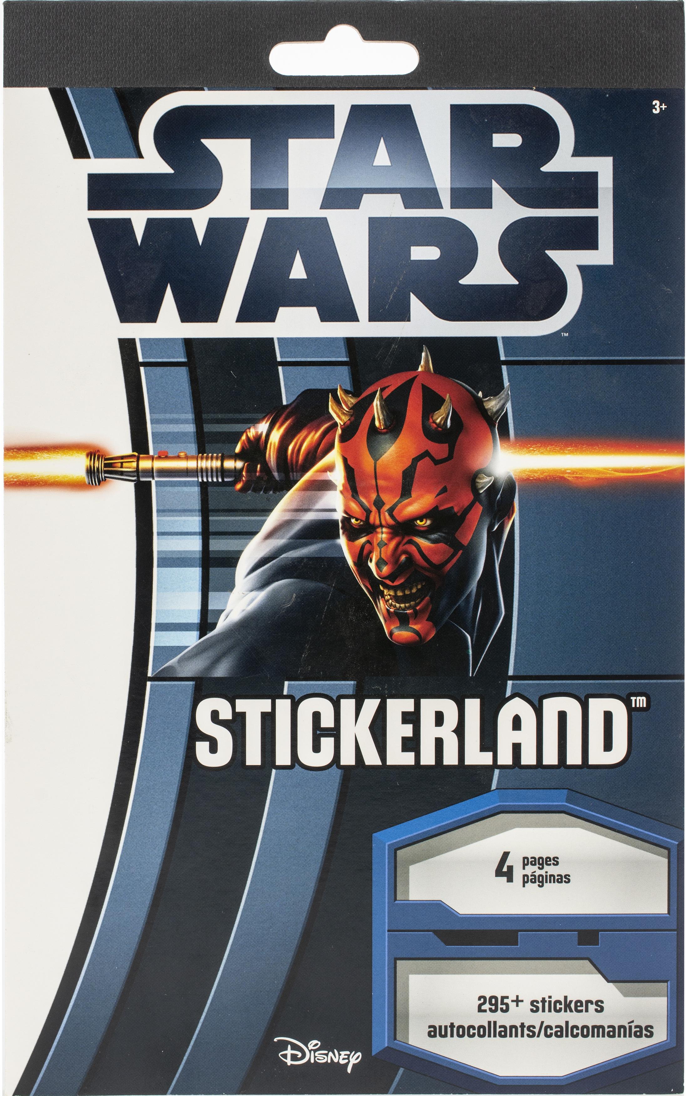 STAR WARS-SandyLion Disney Stickerland Pad- 295/Pkg