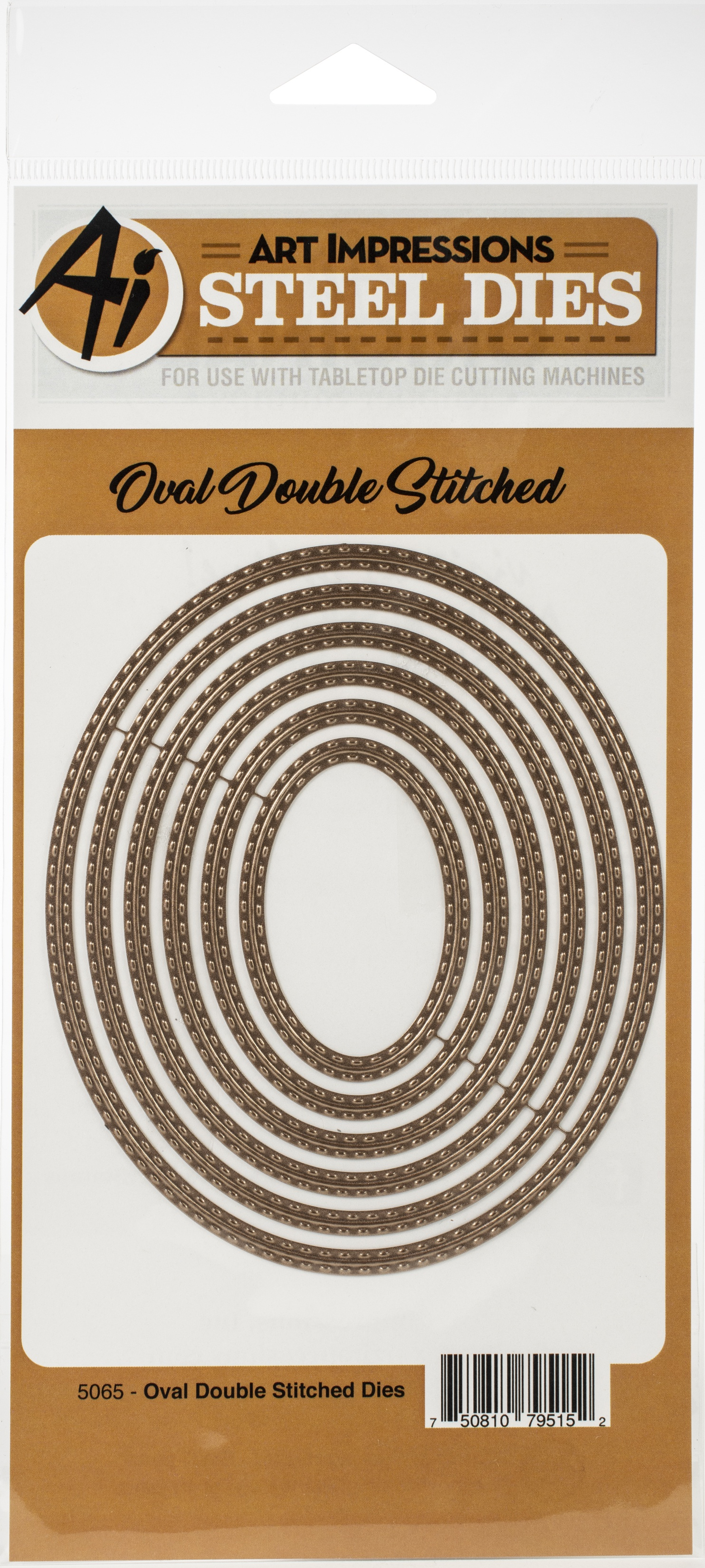 Oval Double Stitched Dies