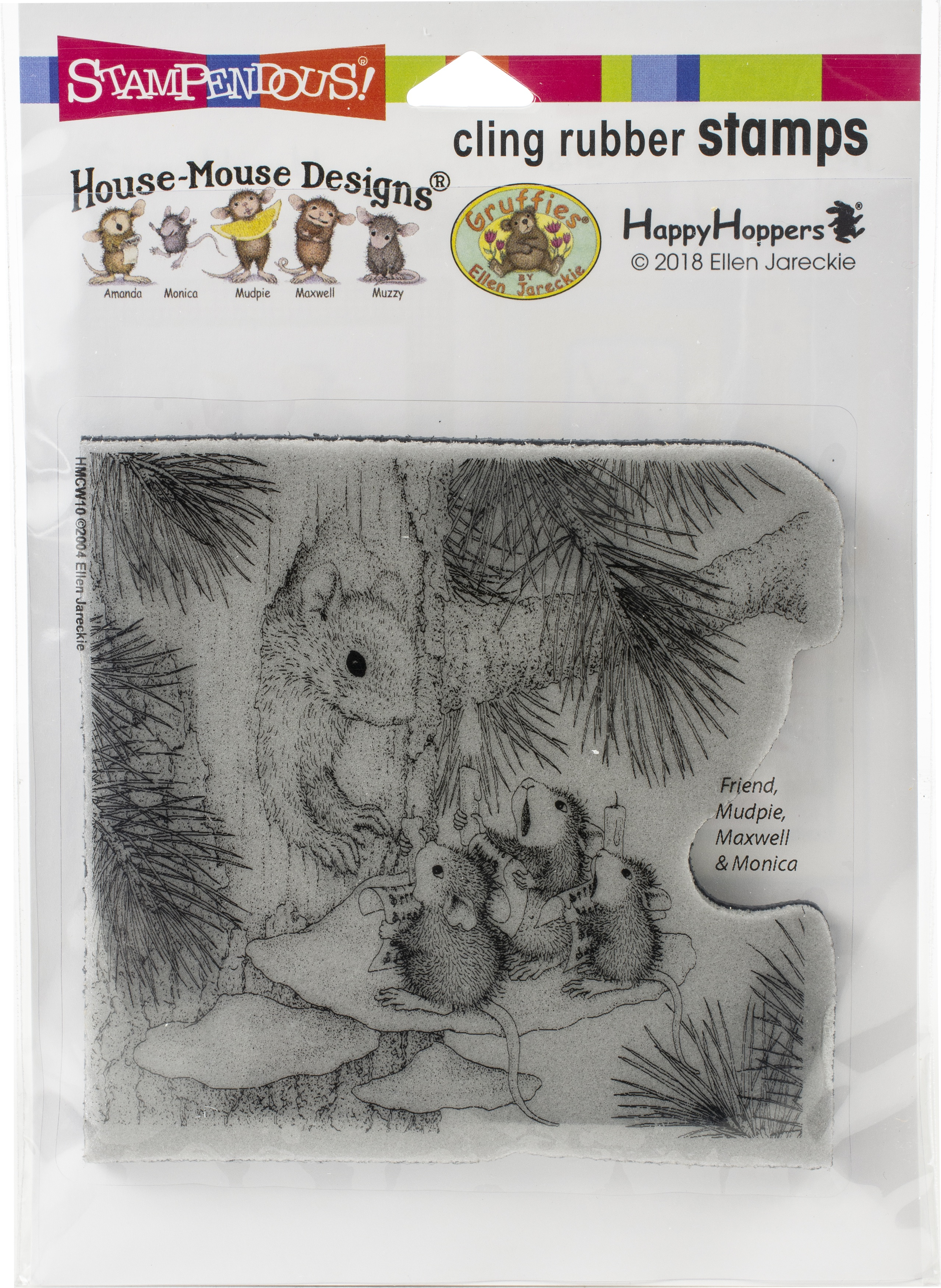 Stampendous -  House Mouse Squirrel Singers