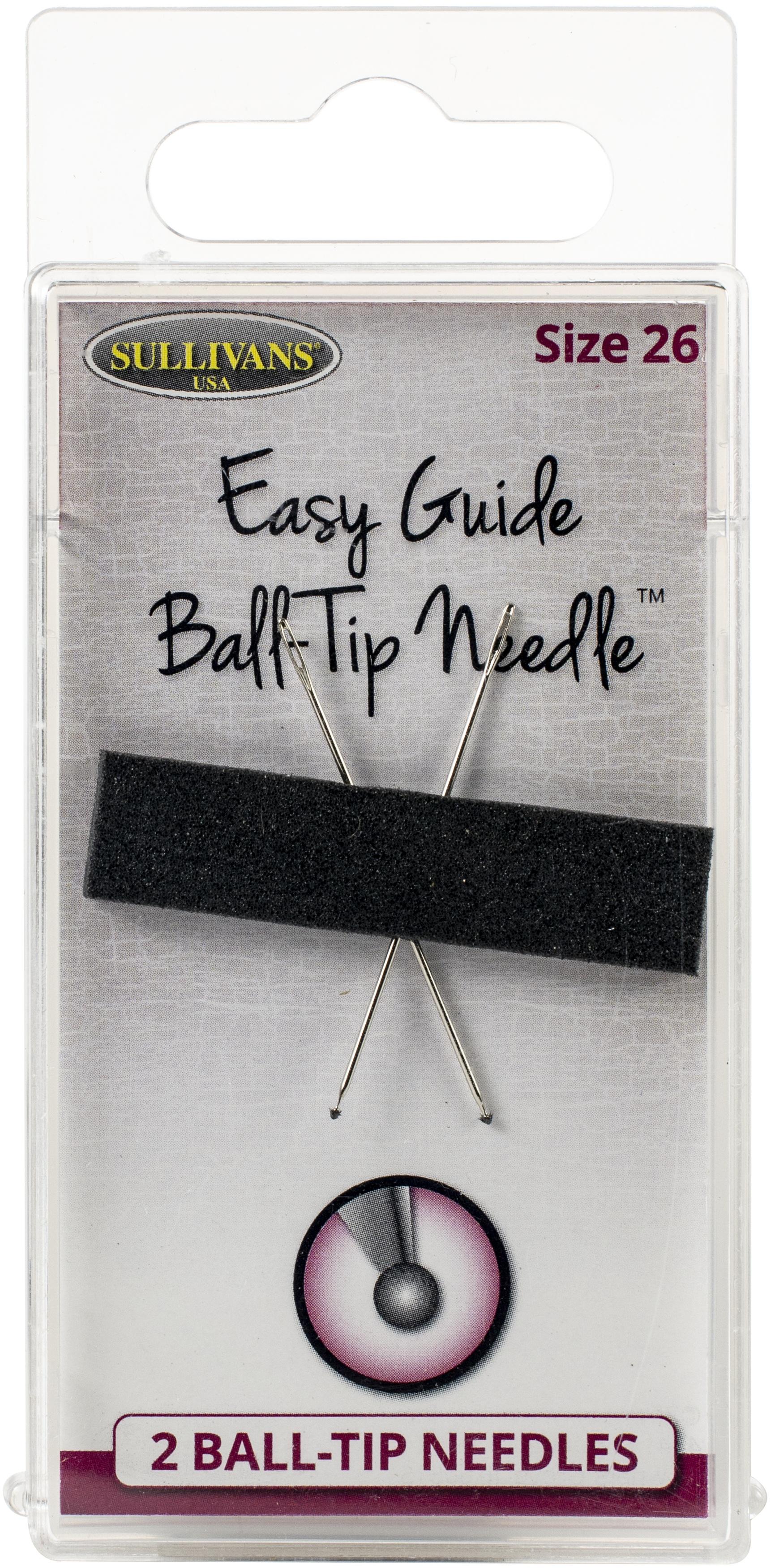 #26 Ball Tip Needles