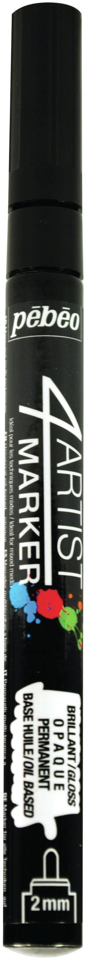 Pebeo Marker Fine Tip 2mm Black