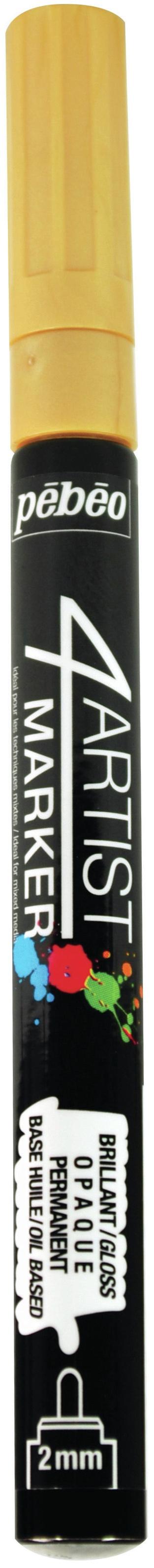 Pebeo Marker Fine Tip 2mm Gold