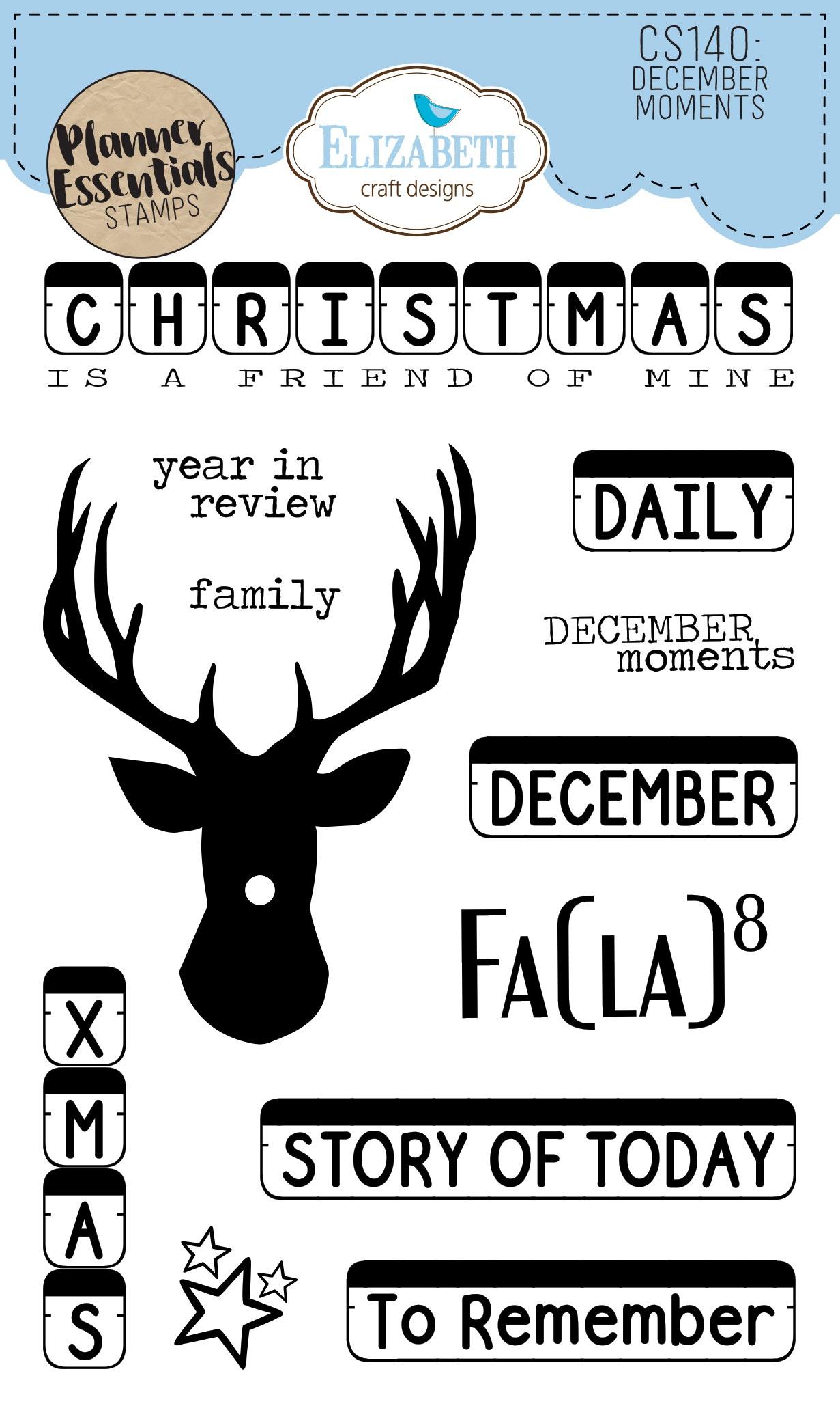 EC - December Moments Stamp Set