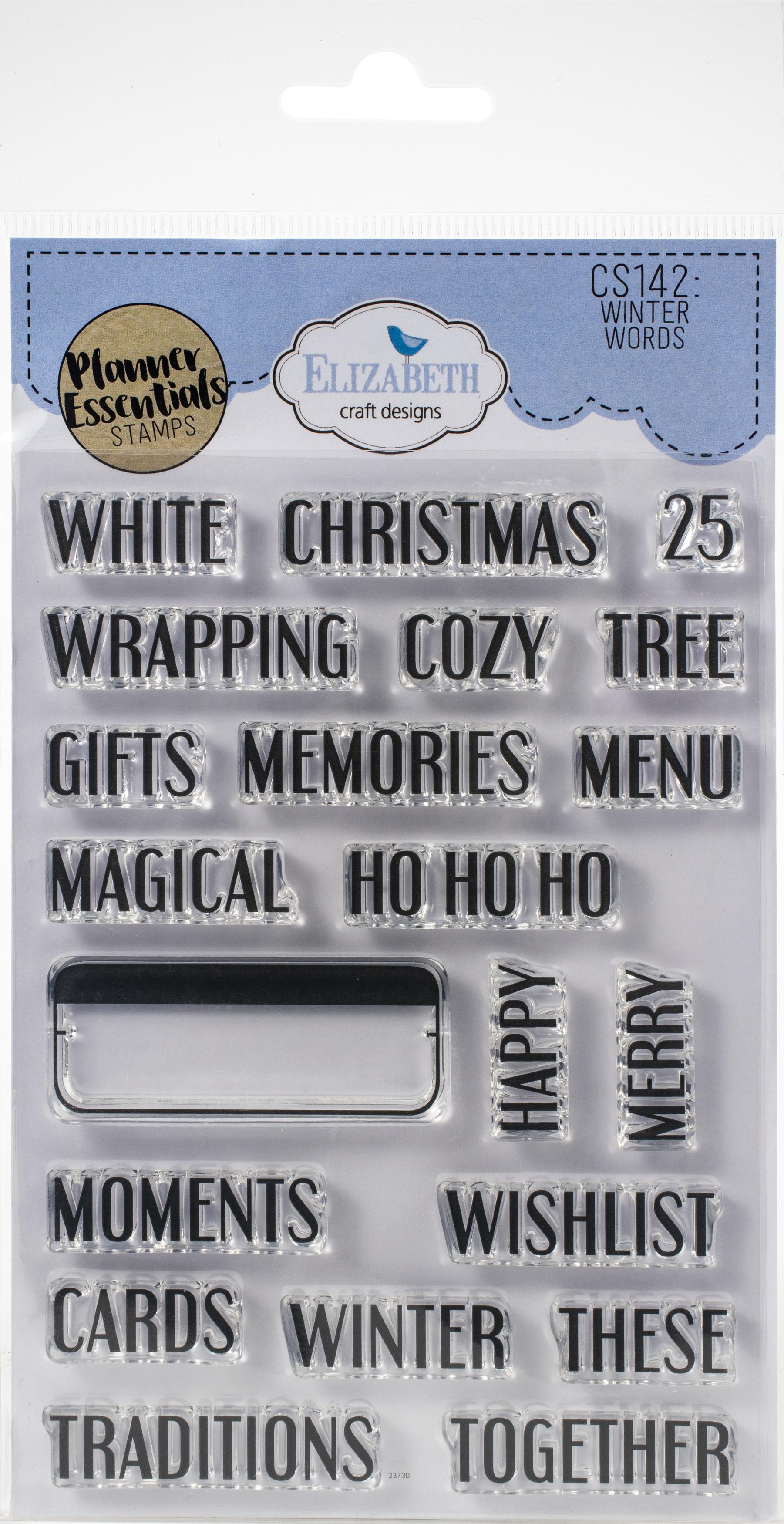 EC - Winter Words Stamp Set