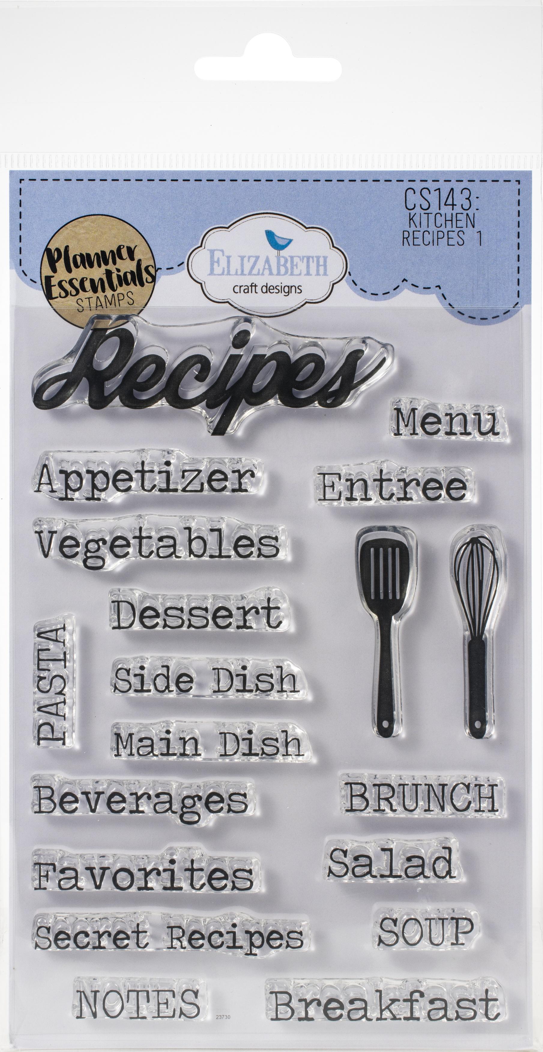 EC - Kitchen Recipe 1 Stamp Set