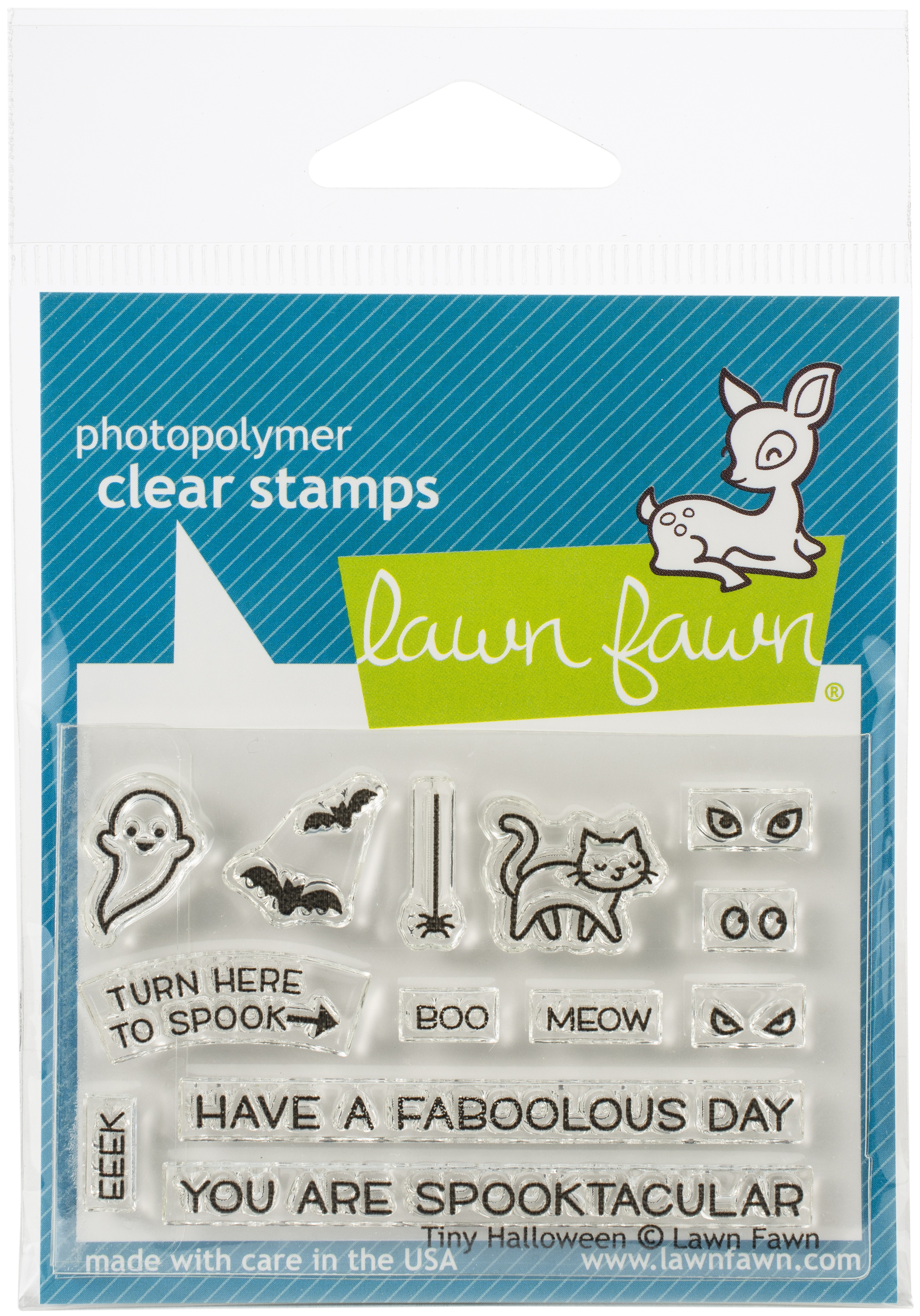 Tiny Halloween Stamp