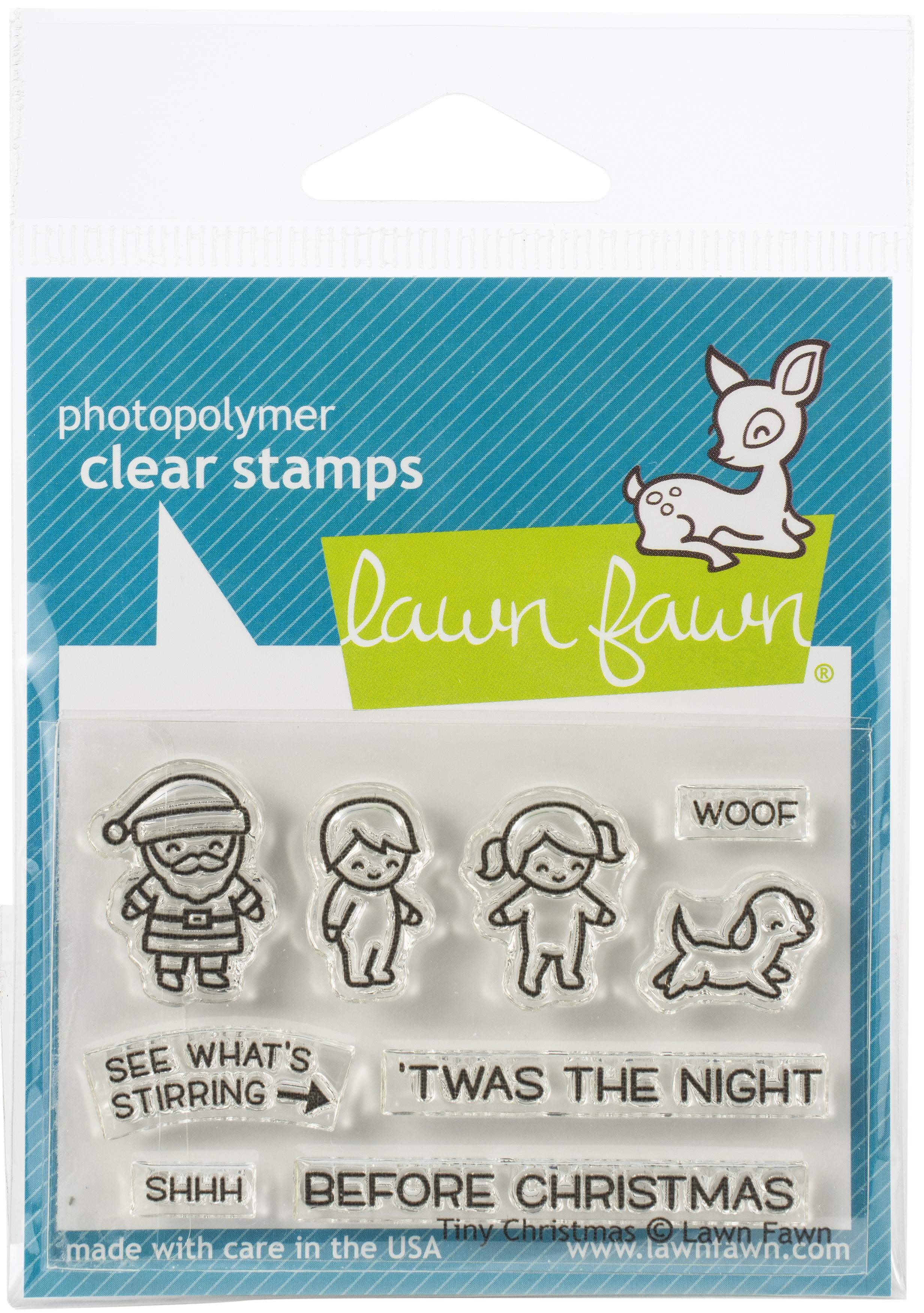 Tiny Christmas Stamp
