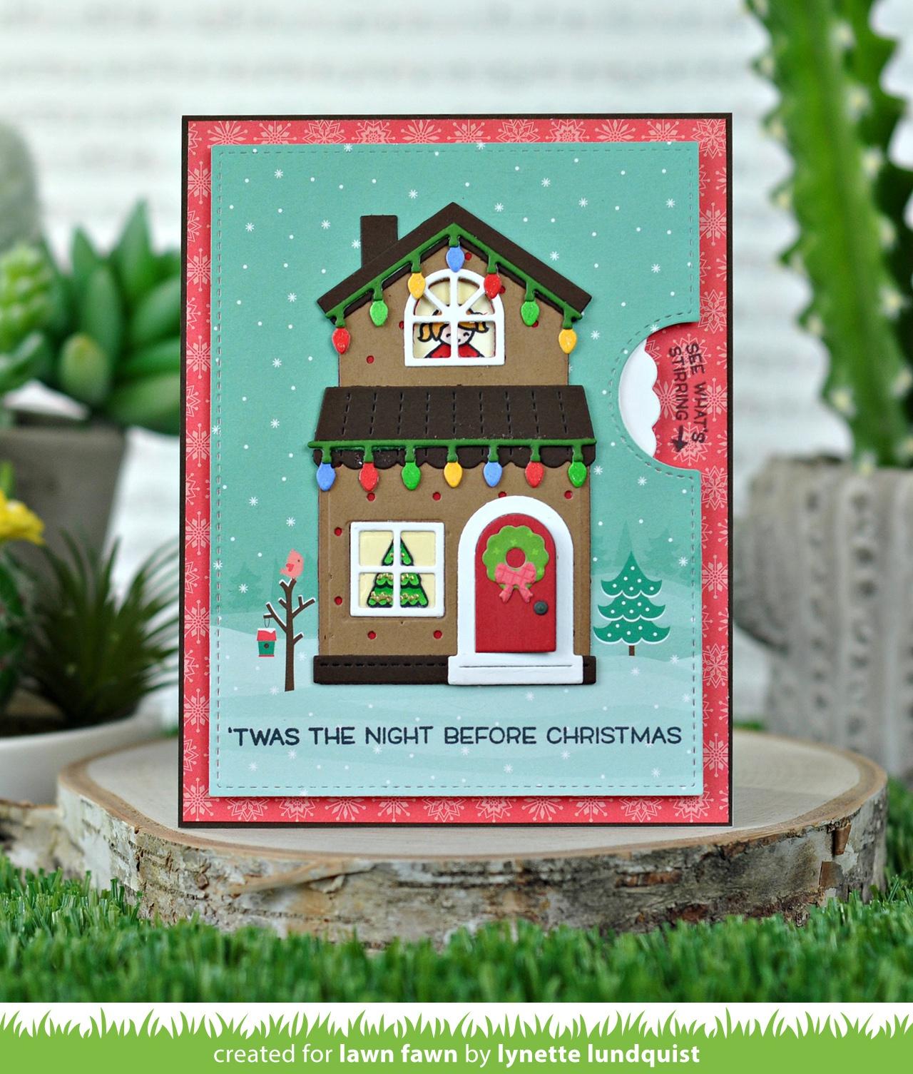 Build-A-House Christmas Dies