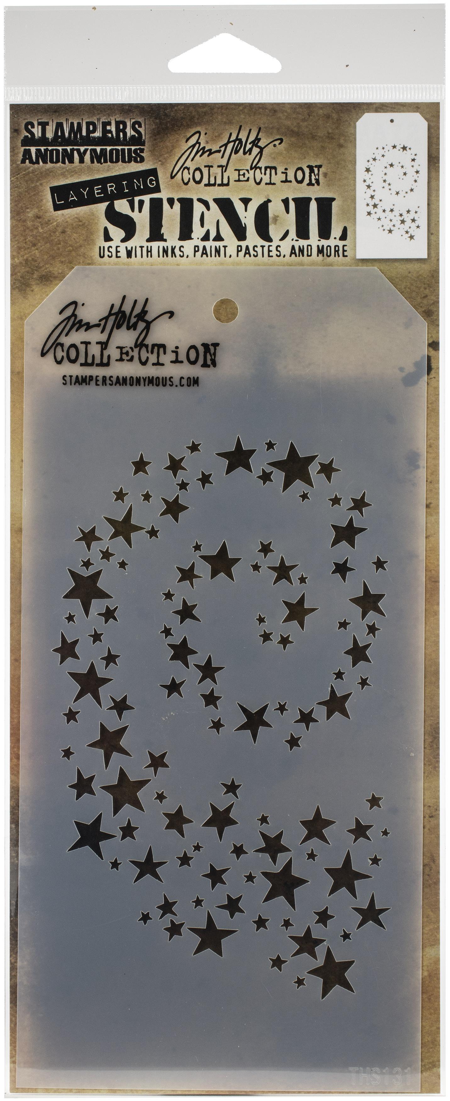 Tim Holtz Layered Stencil 4.125X8.5-Hocus Pocus
