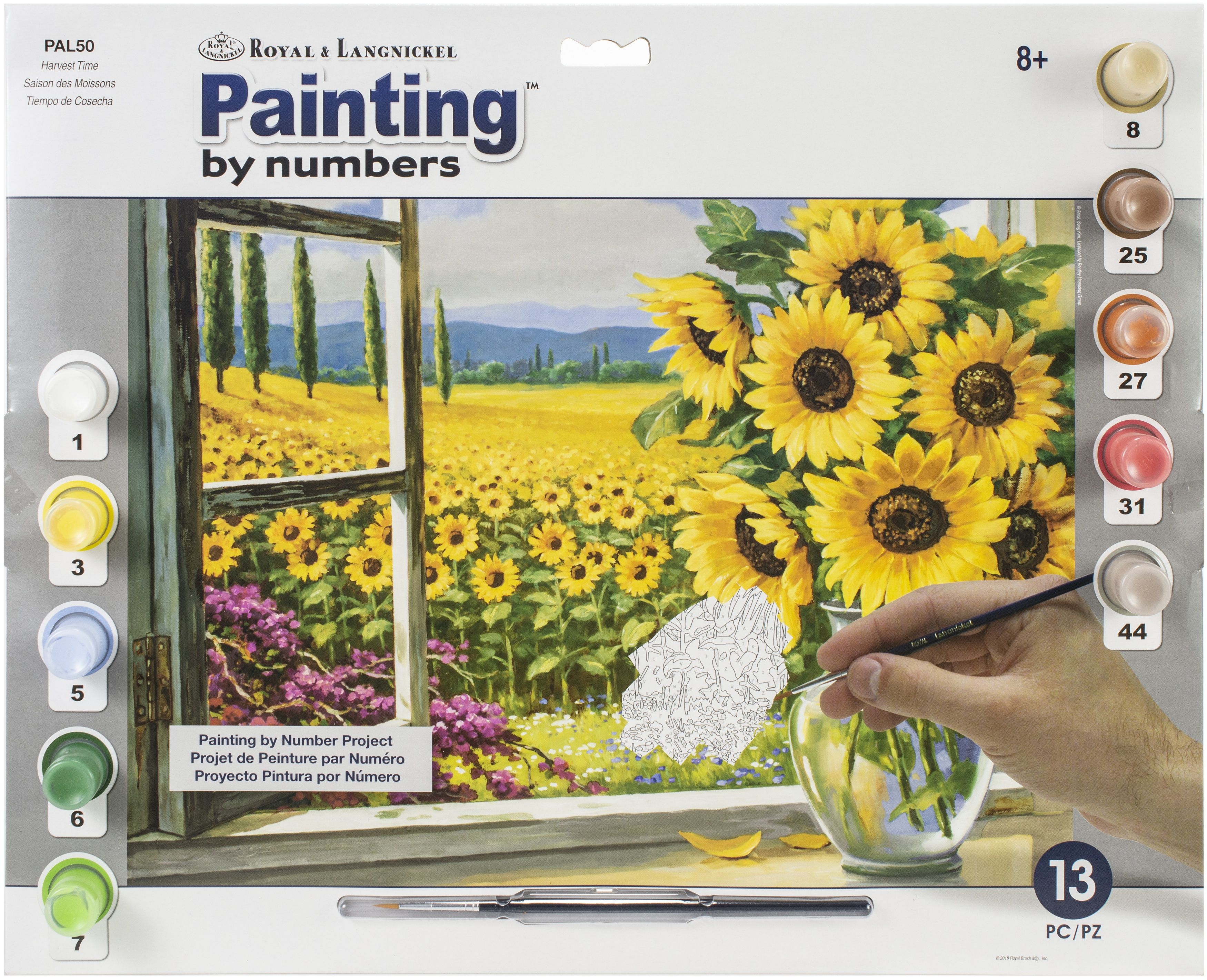 Paint By Number Kit 15.375X11.25-Harvest Time