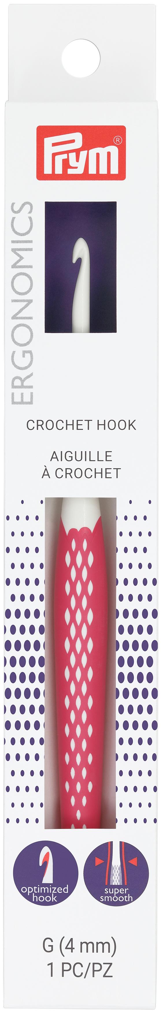 Prym Crochet Hook-Size G6/4mm