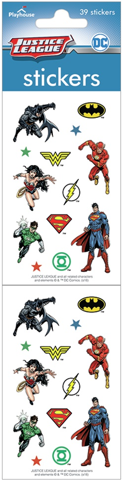 Paper House Stickers 2-Justice League