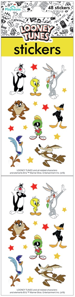 Paper House Stickers 2-Looney Tunes