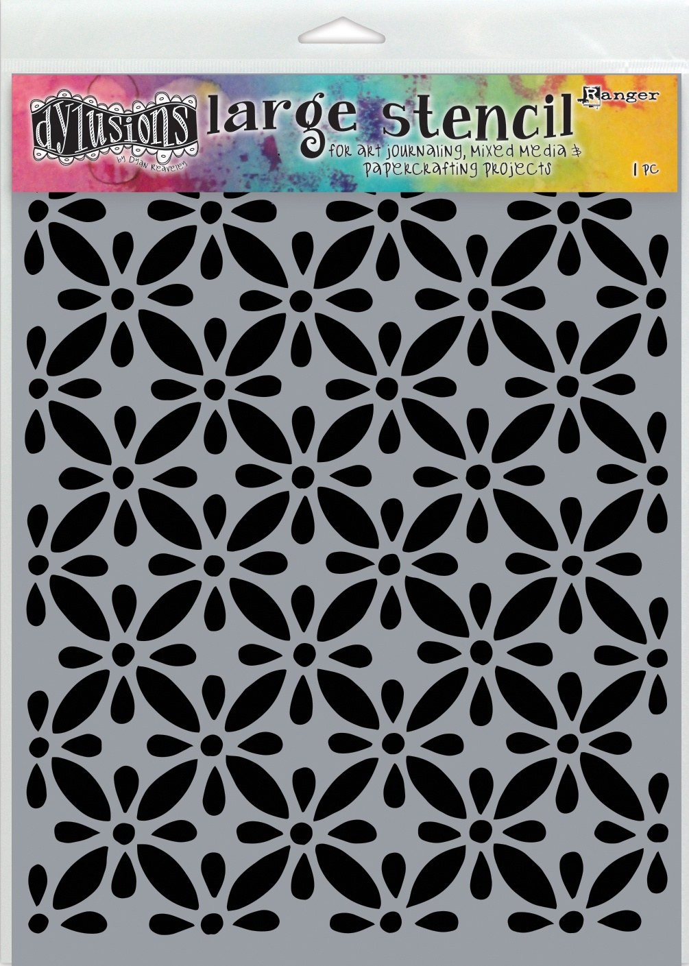 Dyan Reaveley's Dylusions Stencils 9X12-Quilts