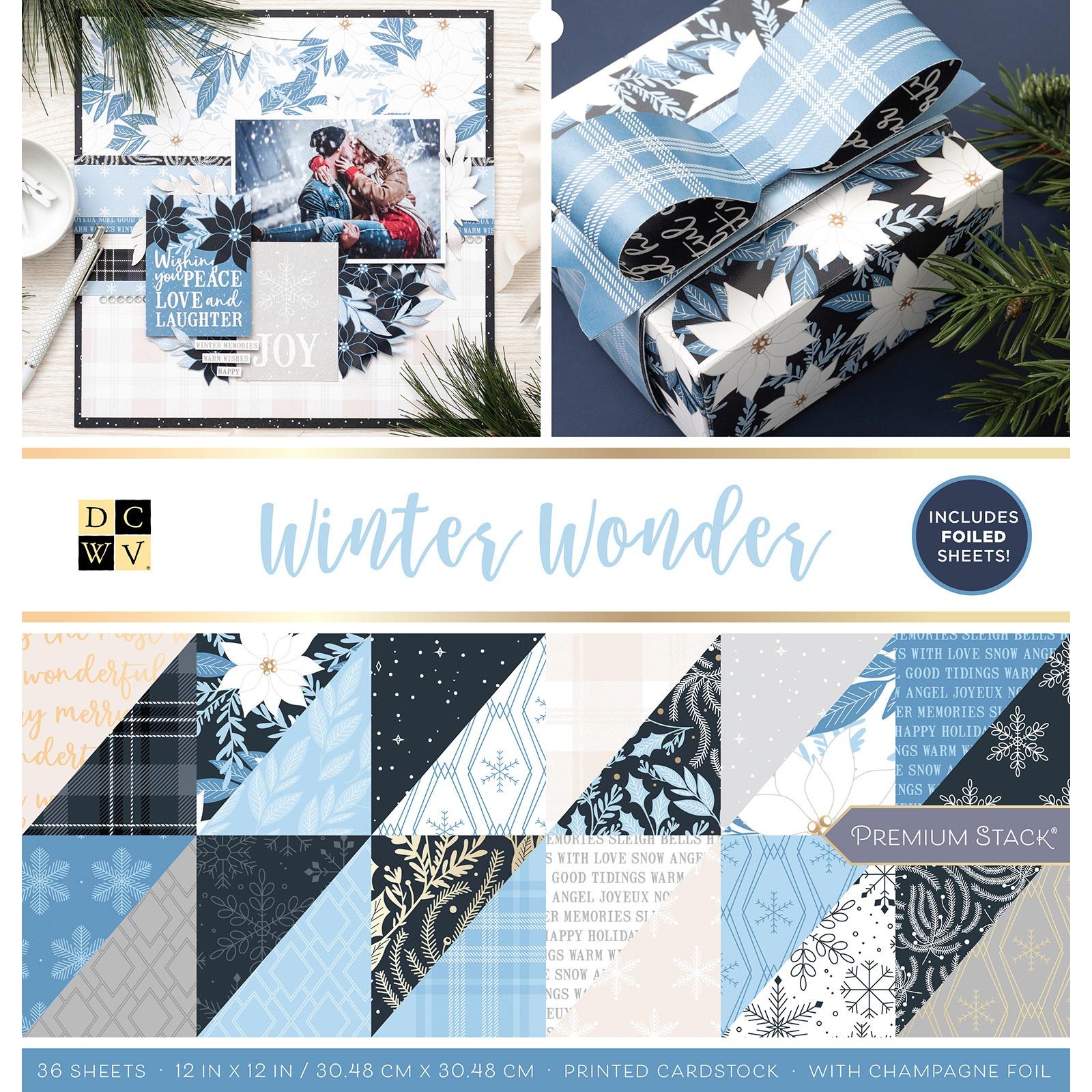 Winter Wonderland W/Foil Paper Stack