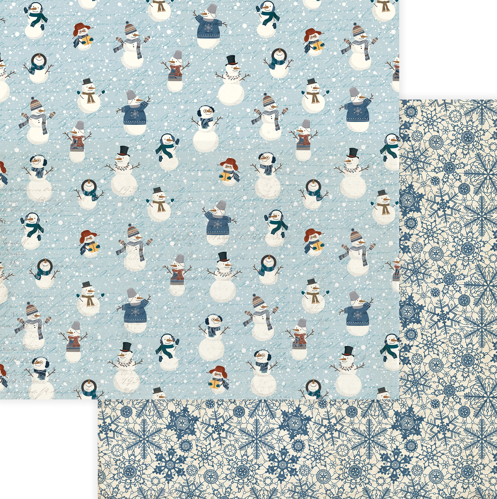 For The Love Of Winter Double-Sided Cardstock 12X12-Snow Much Fun
