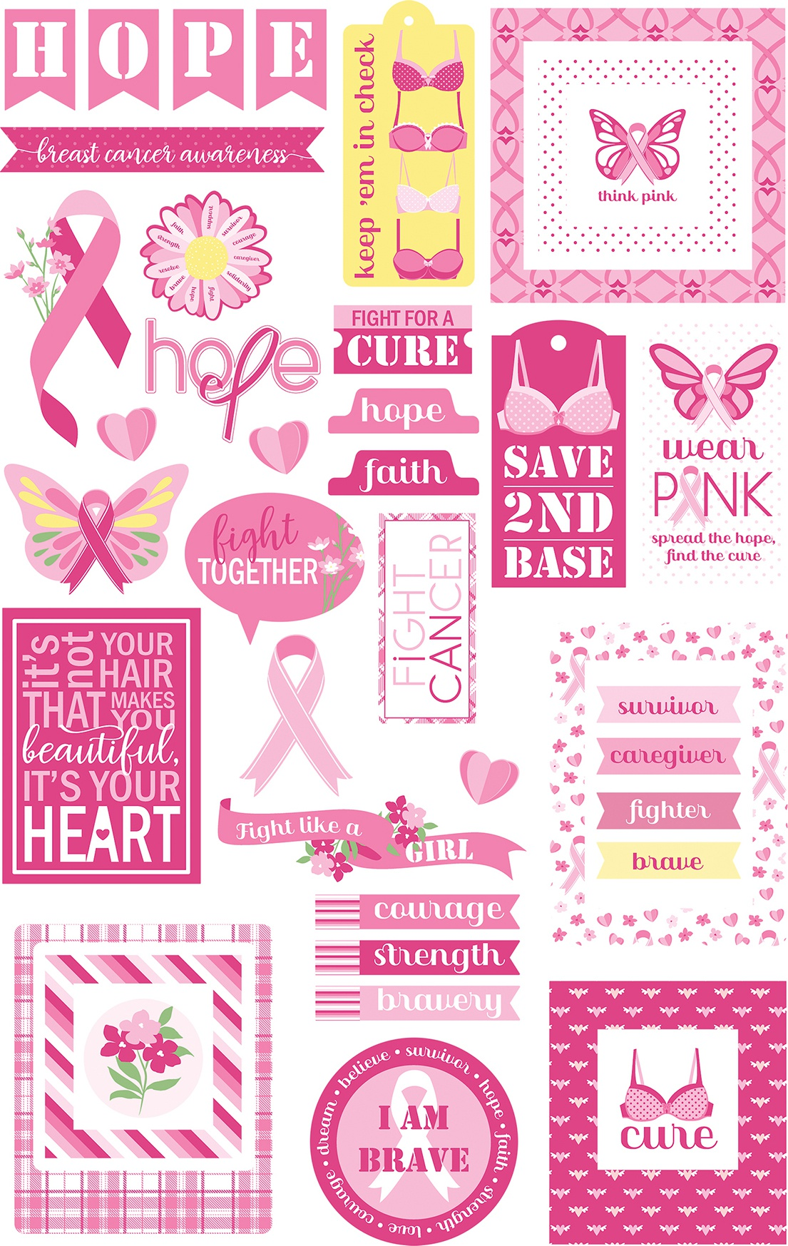 Colorplay - Operation Save 2nd Base - Cardstock Die Cuts