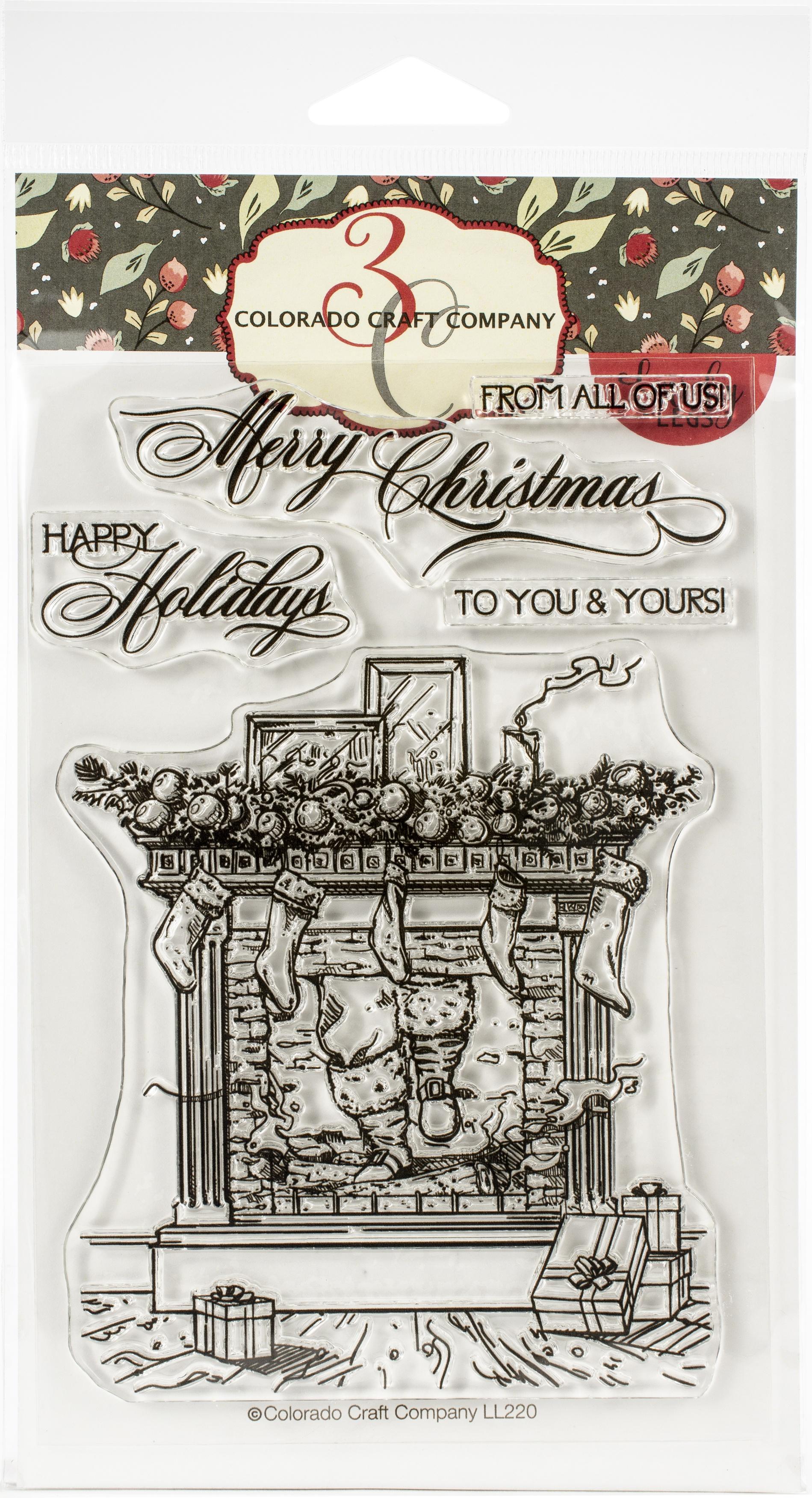 Santa Is Coming Lovely Legs Stamp Set