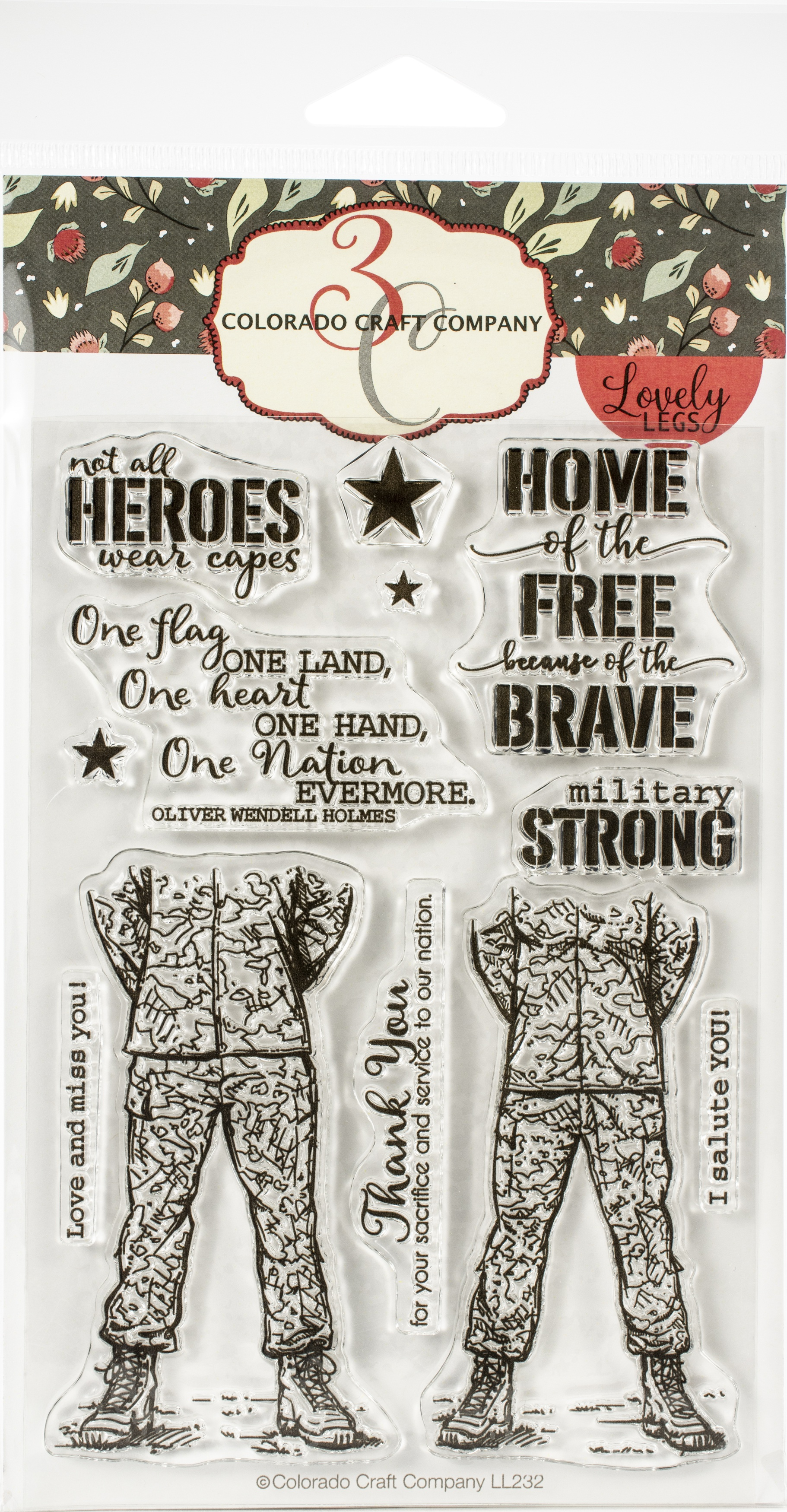 Military Strong Stamp Set