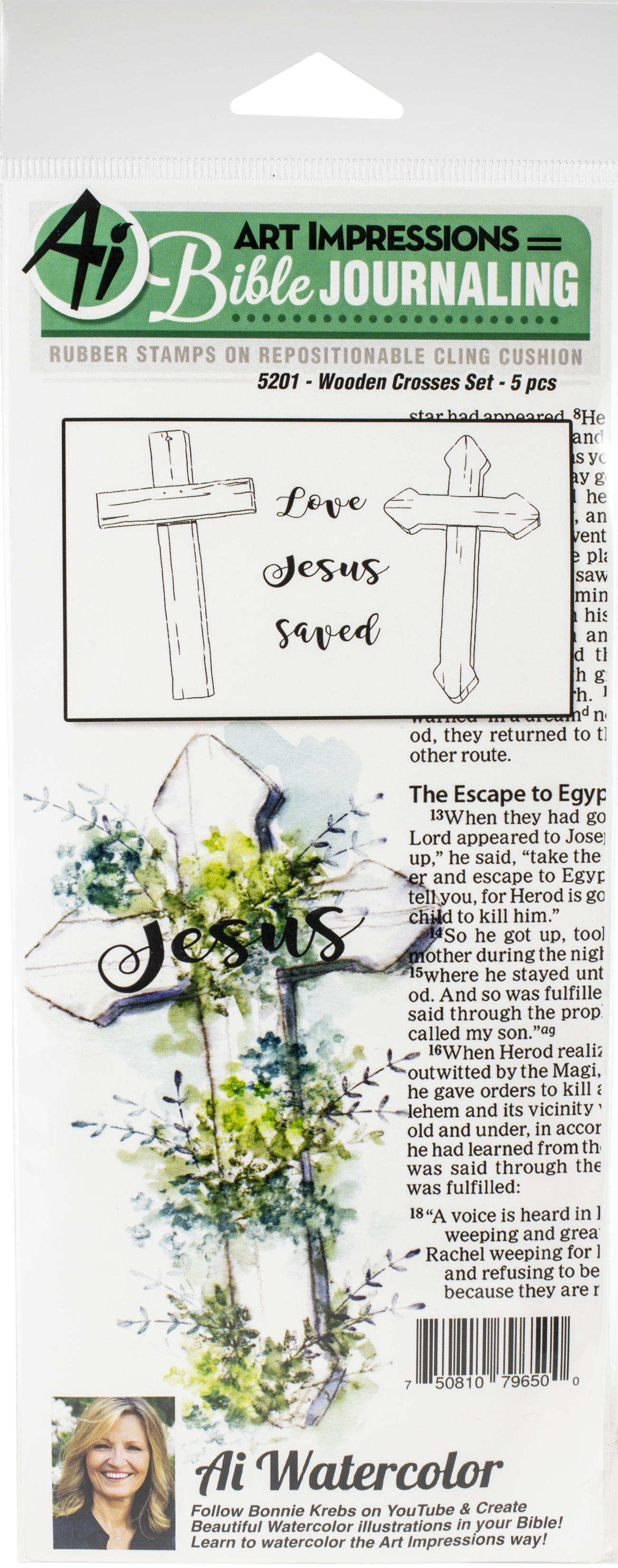 Clear Stamps-AI- Wooden crosses set