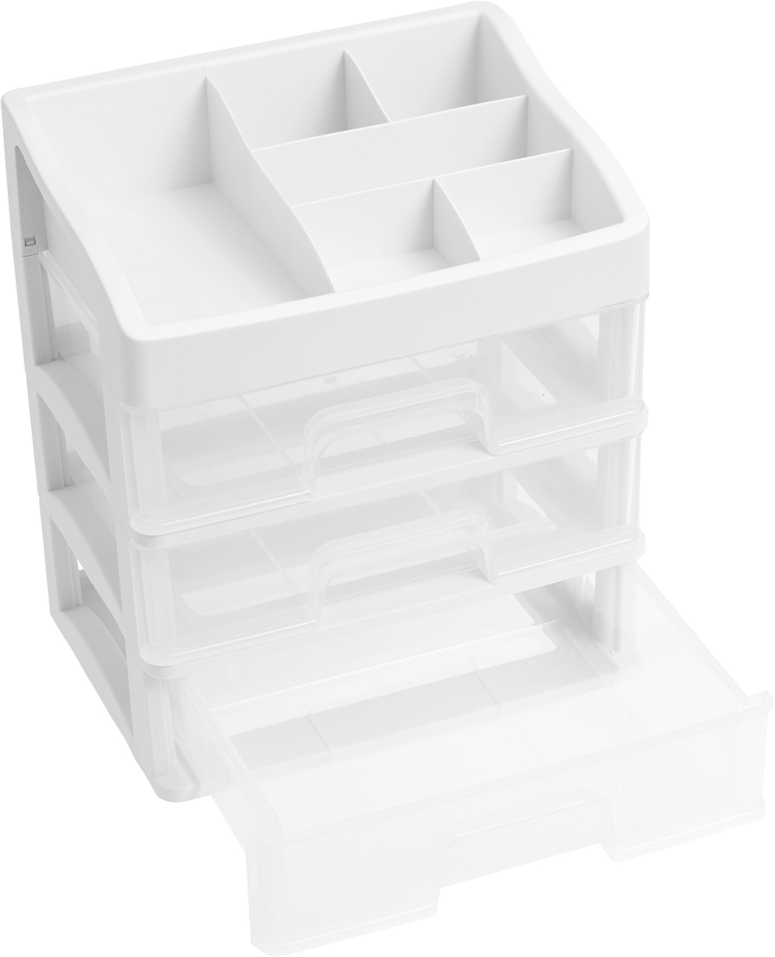 We R 3-Drawer Plastic Storage-11X8X12.5 Case