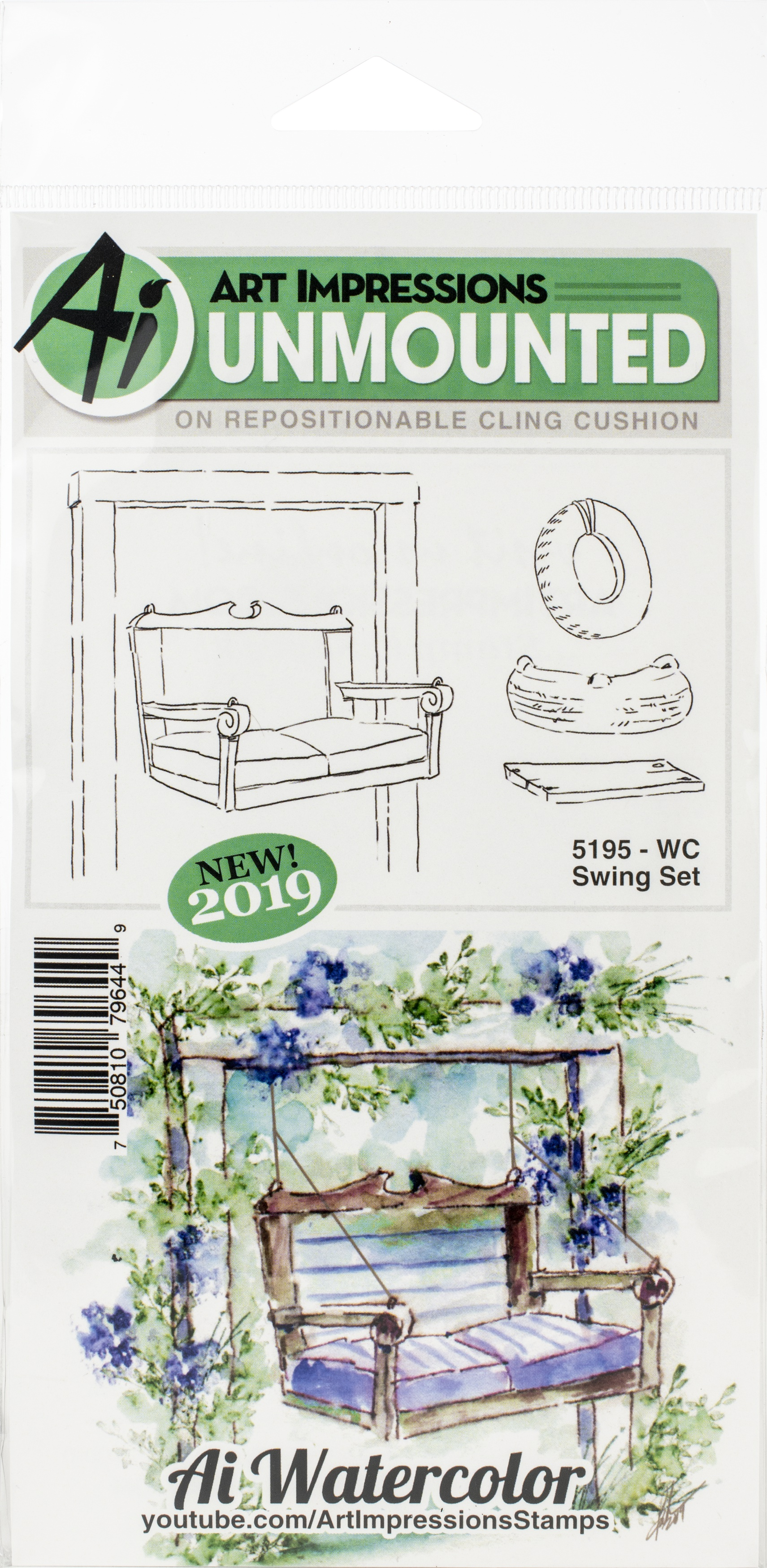 WC Swing Stamp Set