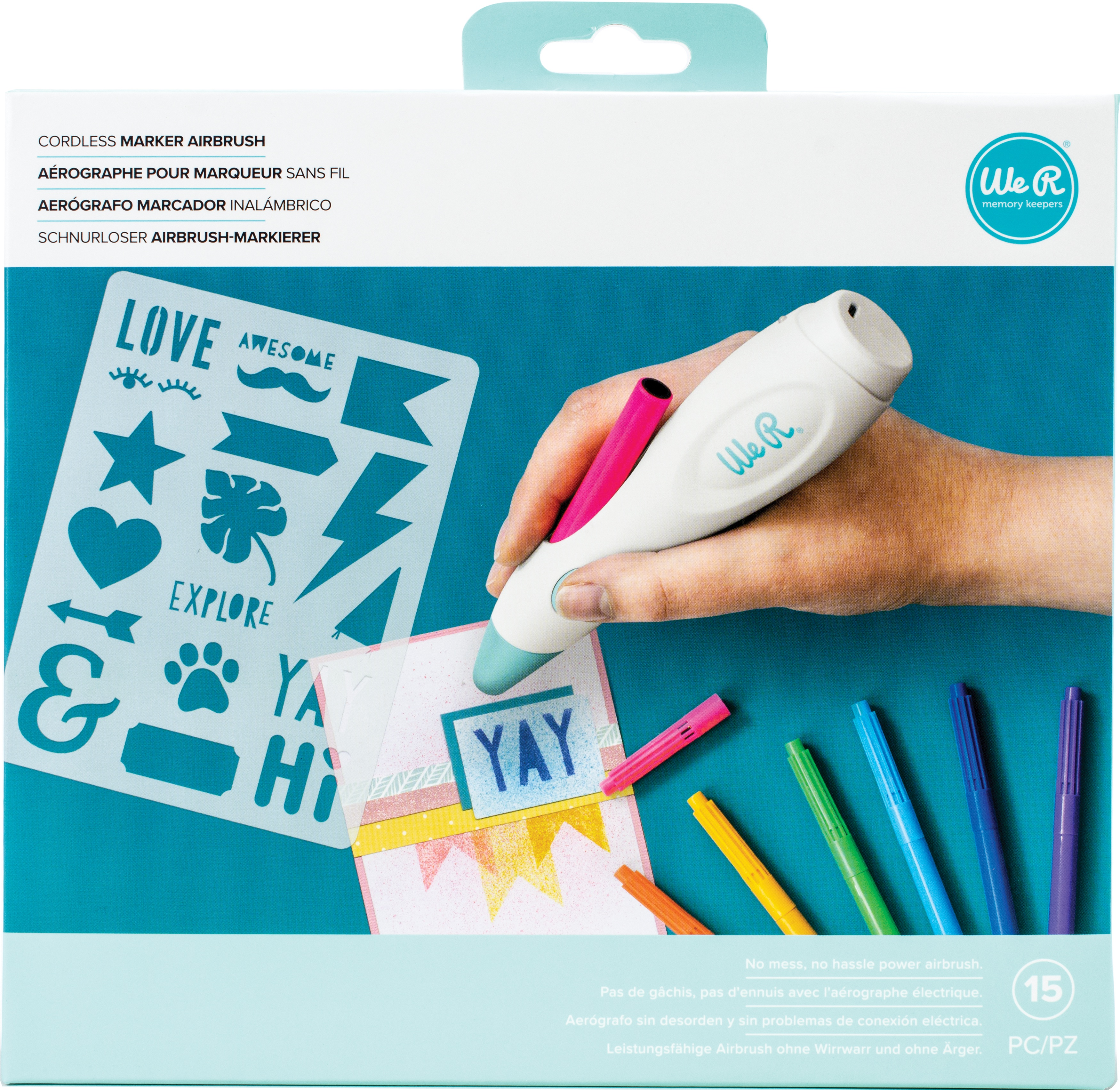 We R Cordless Marker Airbrush Set-