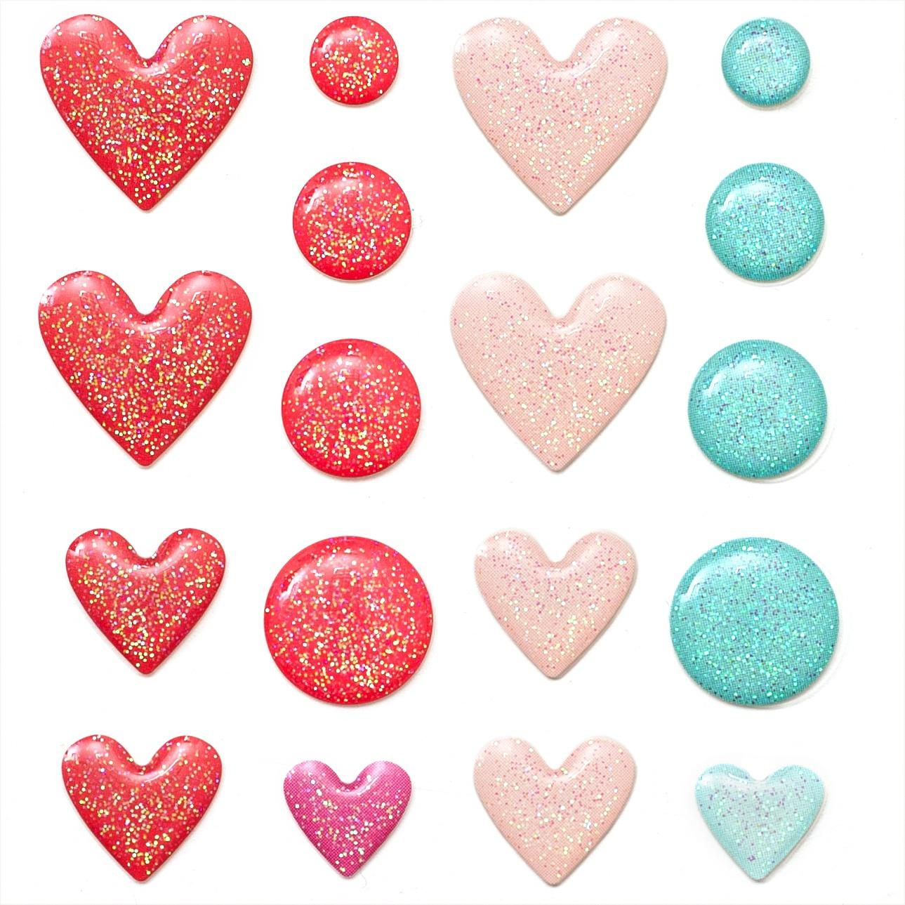 Lucky Us Enamel Dots 36/Pkg-