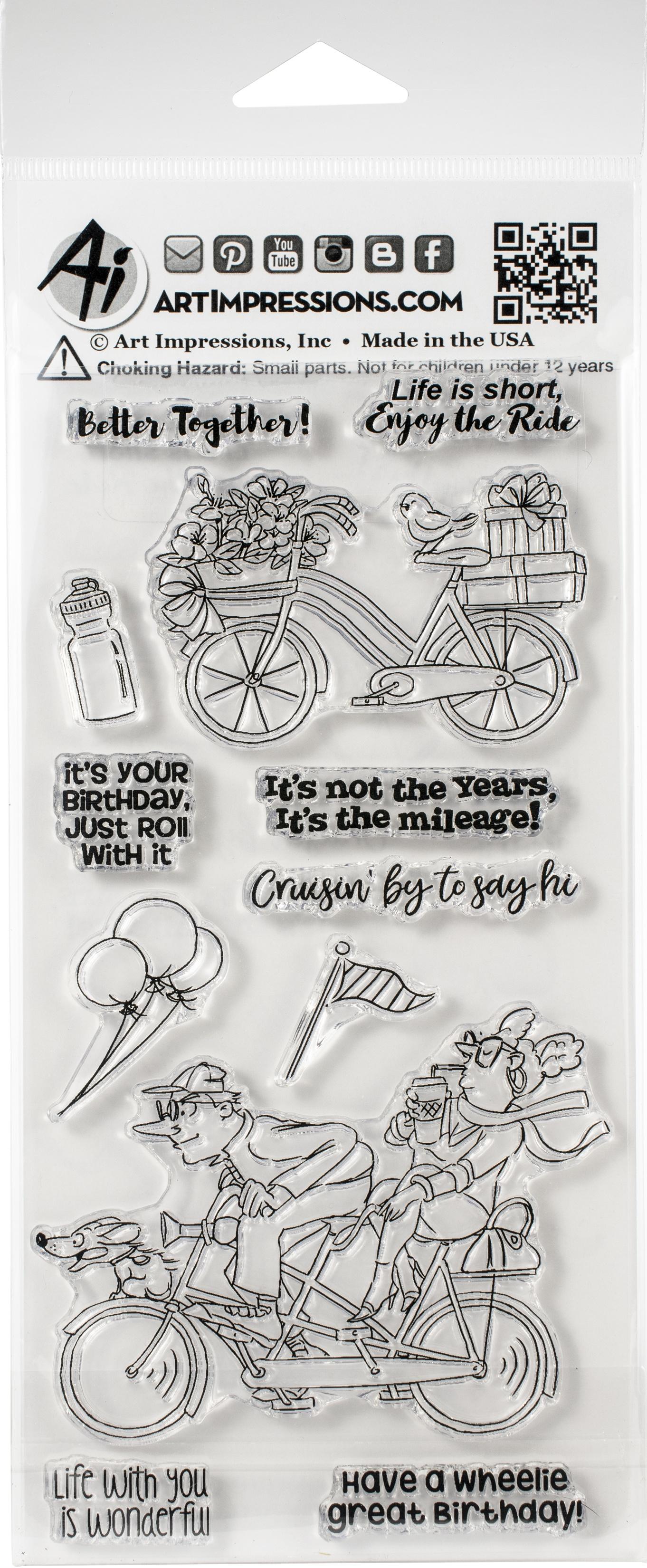 Enjoy The Ride Stamp Set