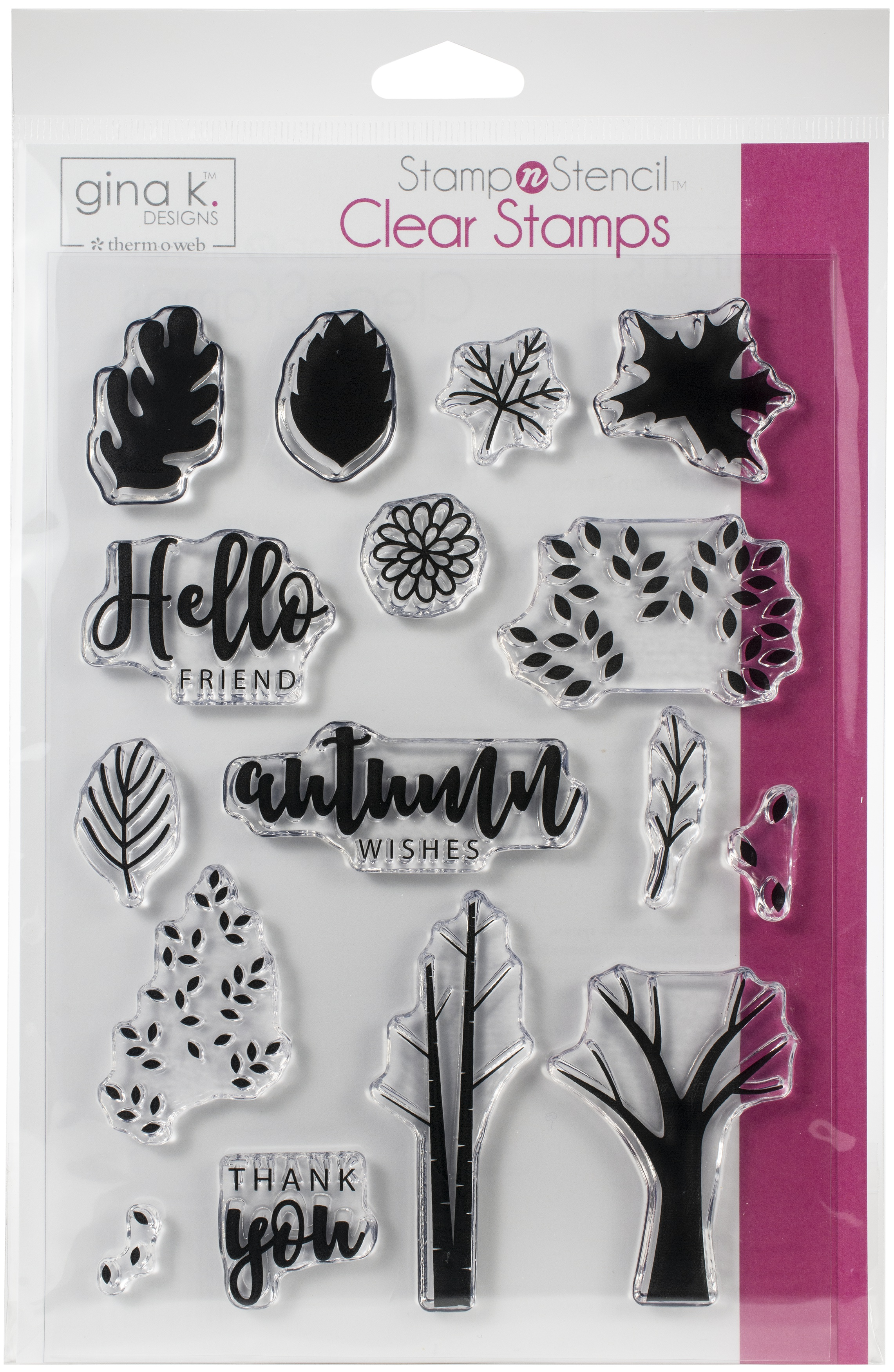 Gina K Designs Stamp Set-Autumn Wishes