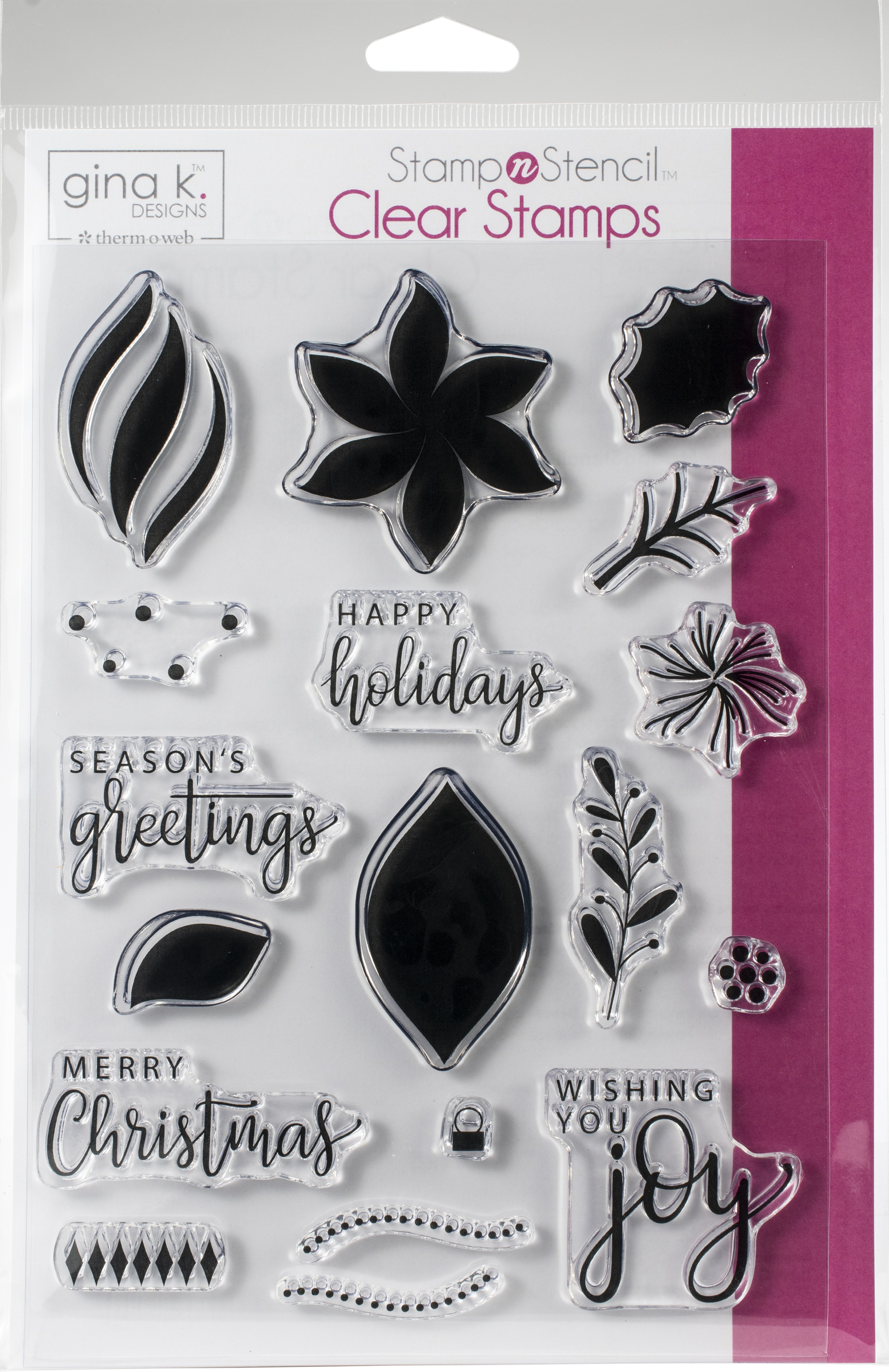 Gina K Designs Stamp Set-Wishing You Joy