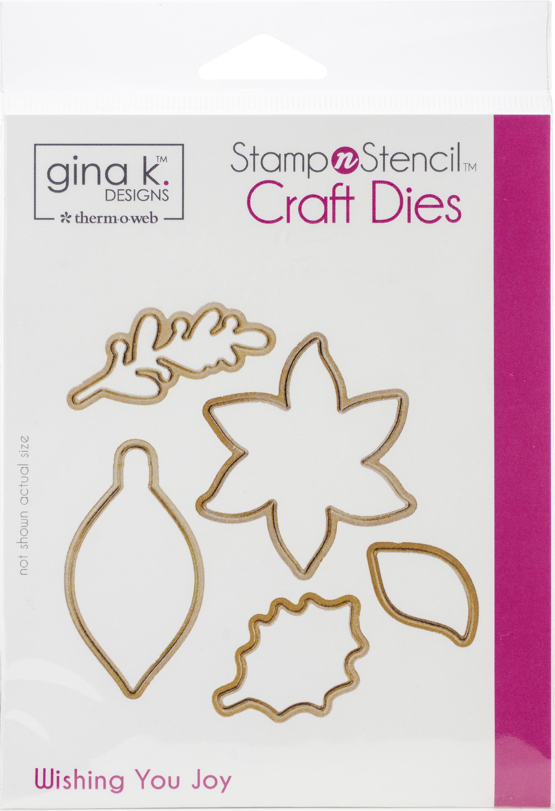 Gina K Designs Die Set-Wishing You Joy