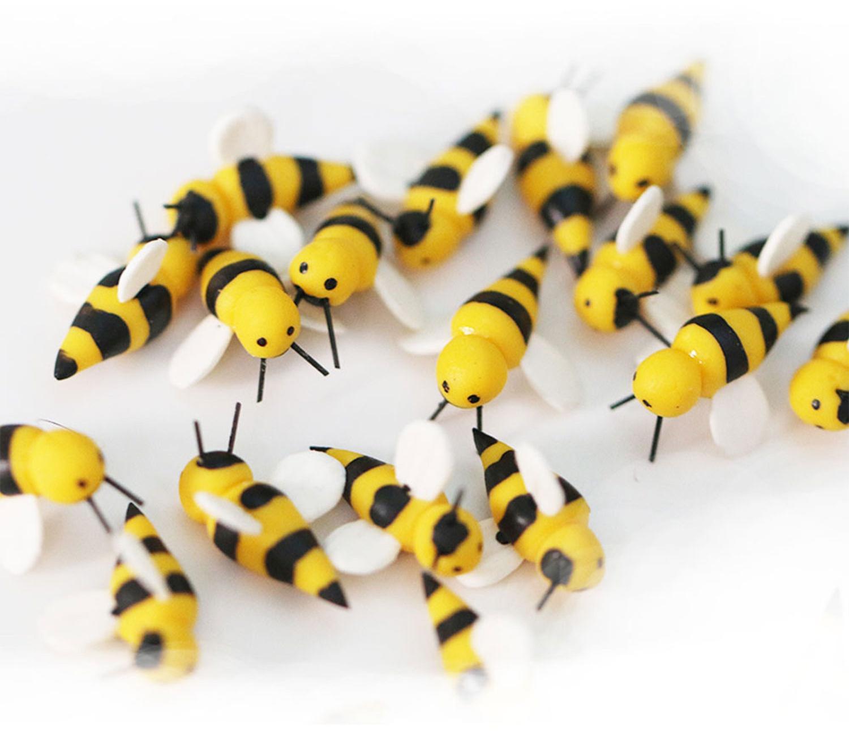 Dress My Craft Miniature 2/Pkg-Figure Honey Bee