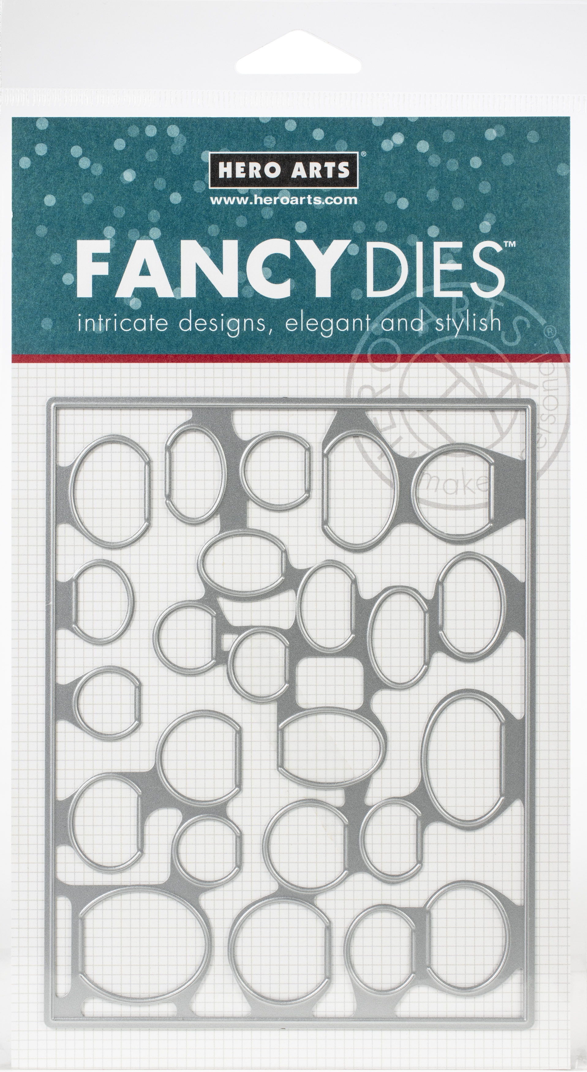Hero Arts Fancy Dies-Circular Peek-A-Boo Doors