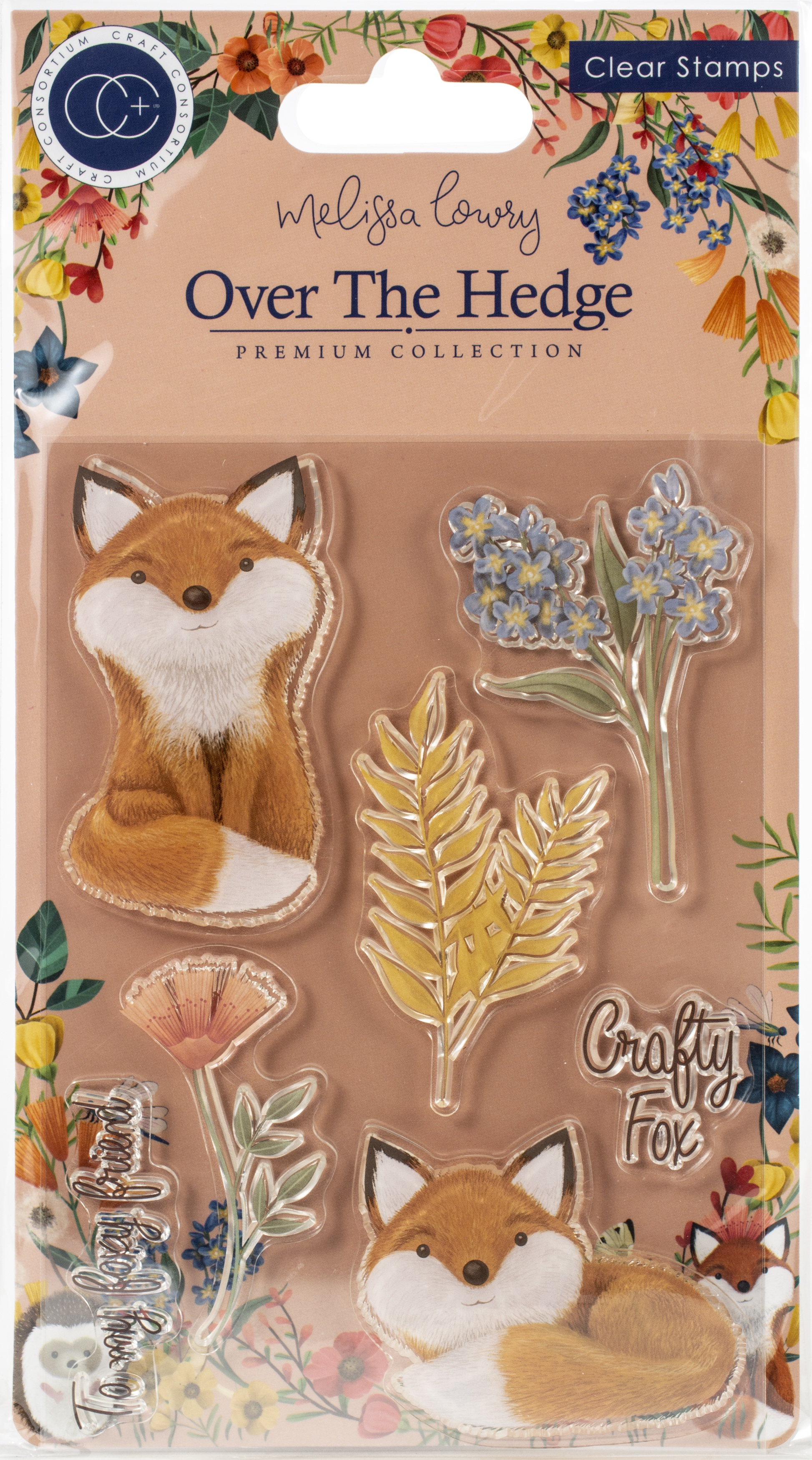 Craft Consortium A5 Clear Stamps-Henry The Fox