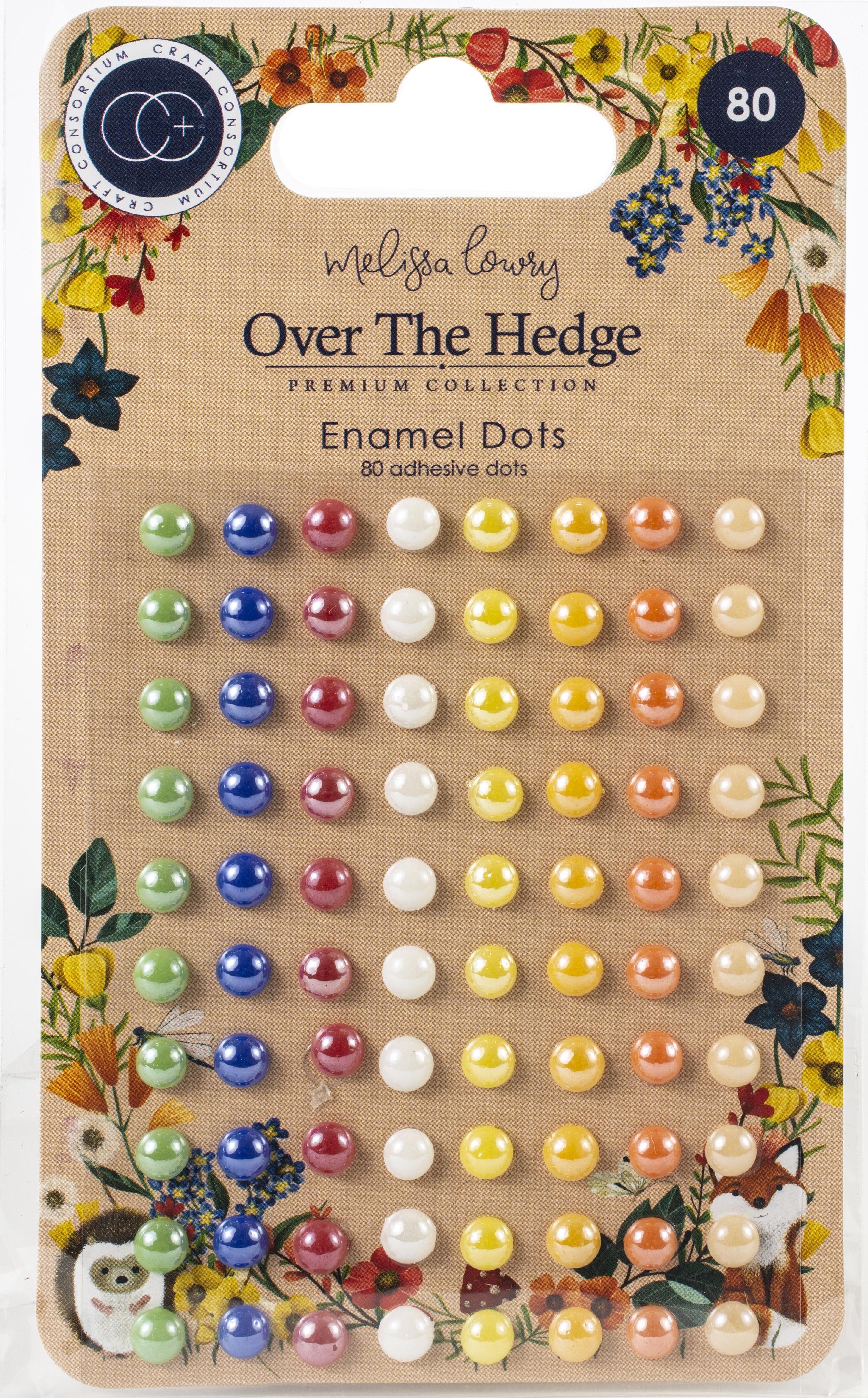 verschiedene Farben CRAFT CONSORTIUM LTD CCADOT005 EPMORIUM ADHS DOTS Emaille Einheitsgr/ö/ße