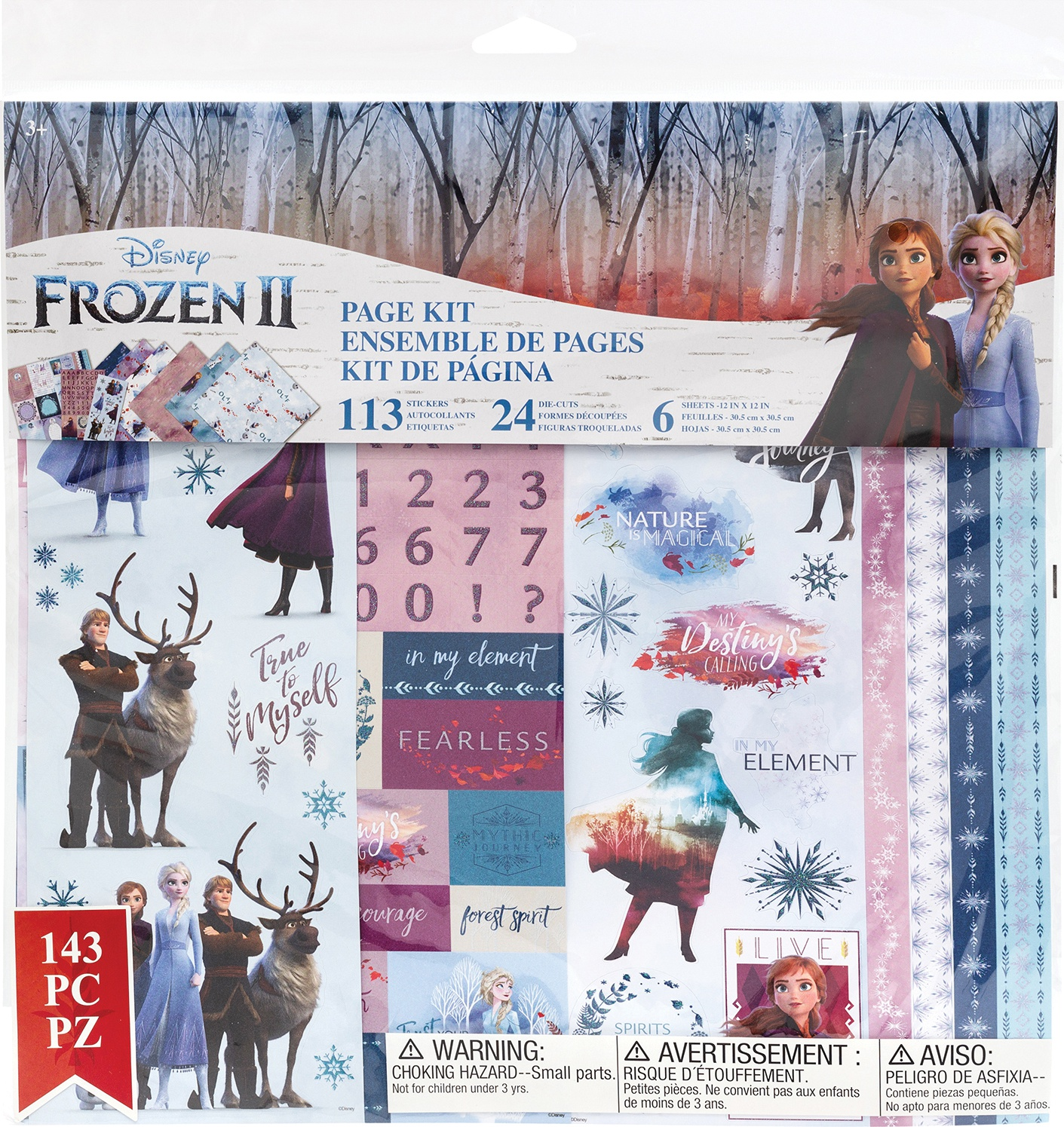 Disney Page Kit 12'x12' - Frozen II