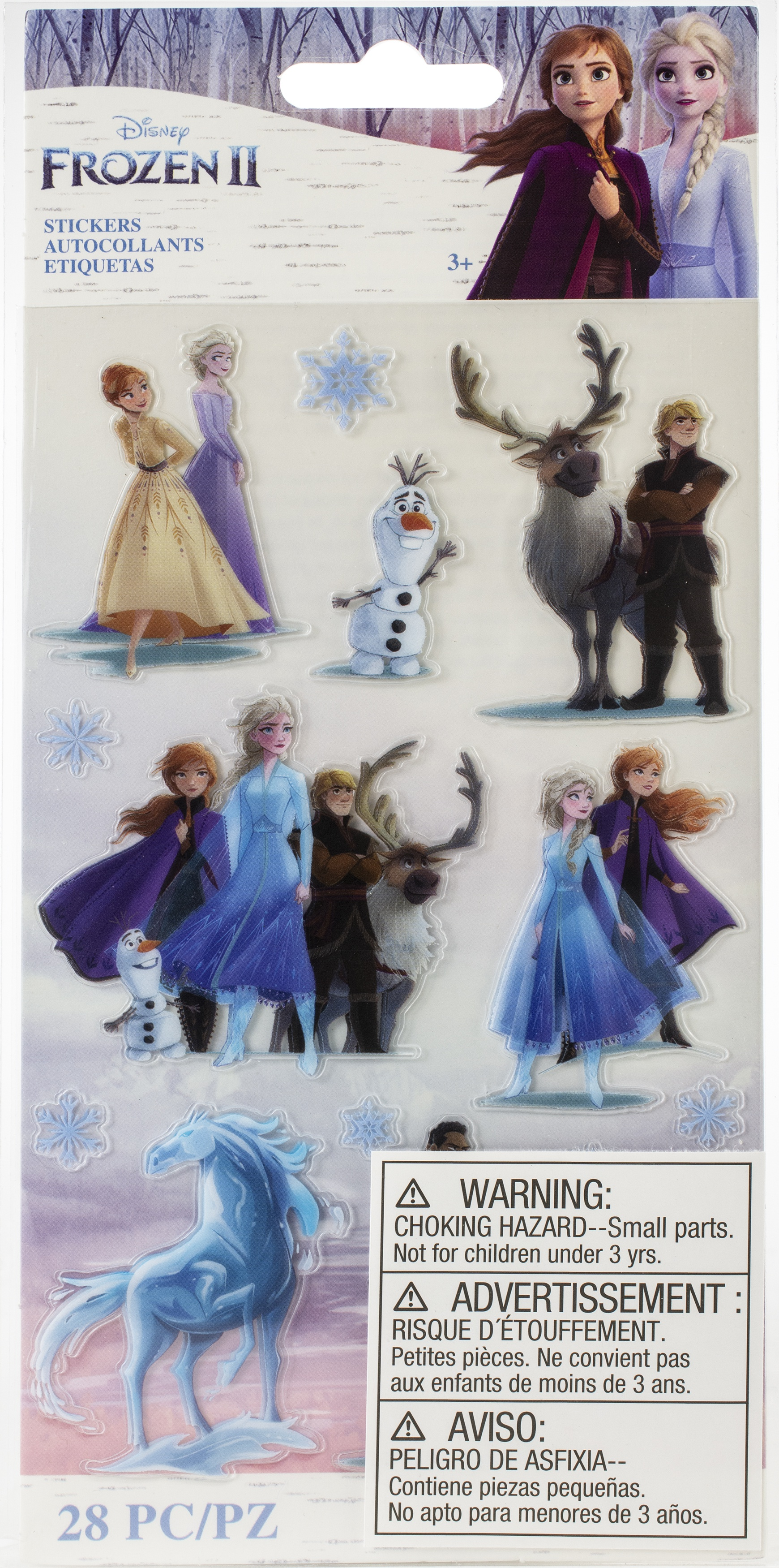 EK Disney Frozen II Stickers 2/Sheets-Characters