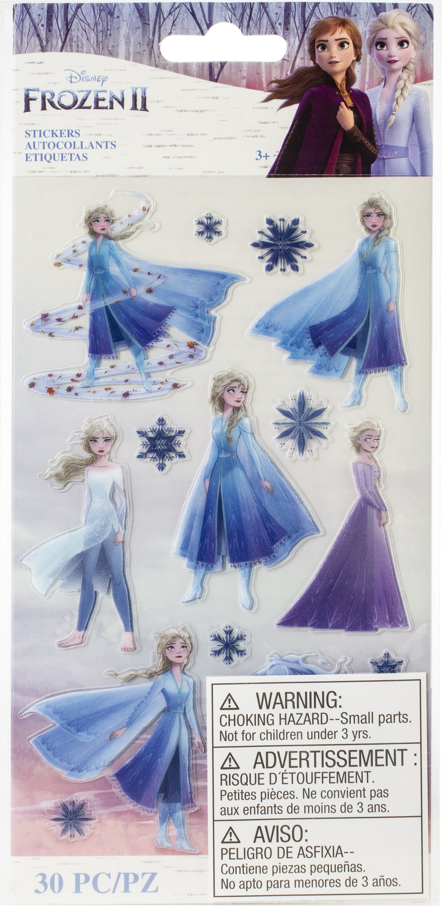 EK Disney Frozen II Stickers 2/Sheets-Elsa