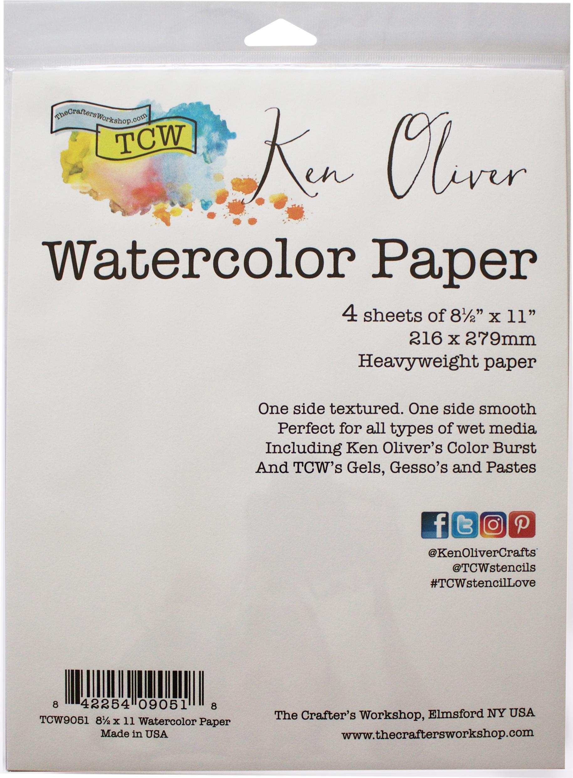 Ken Oliver Watercolor Paper Pack