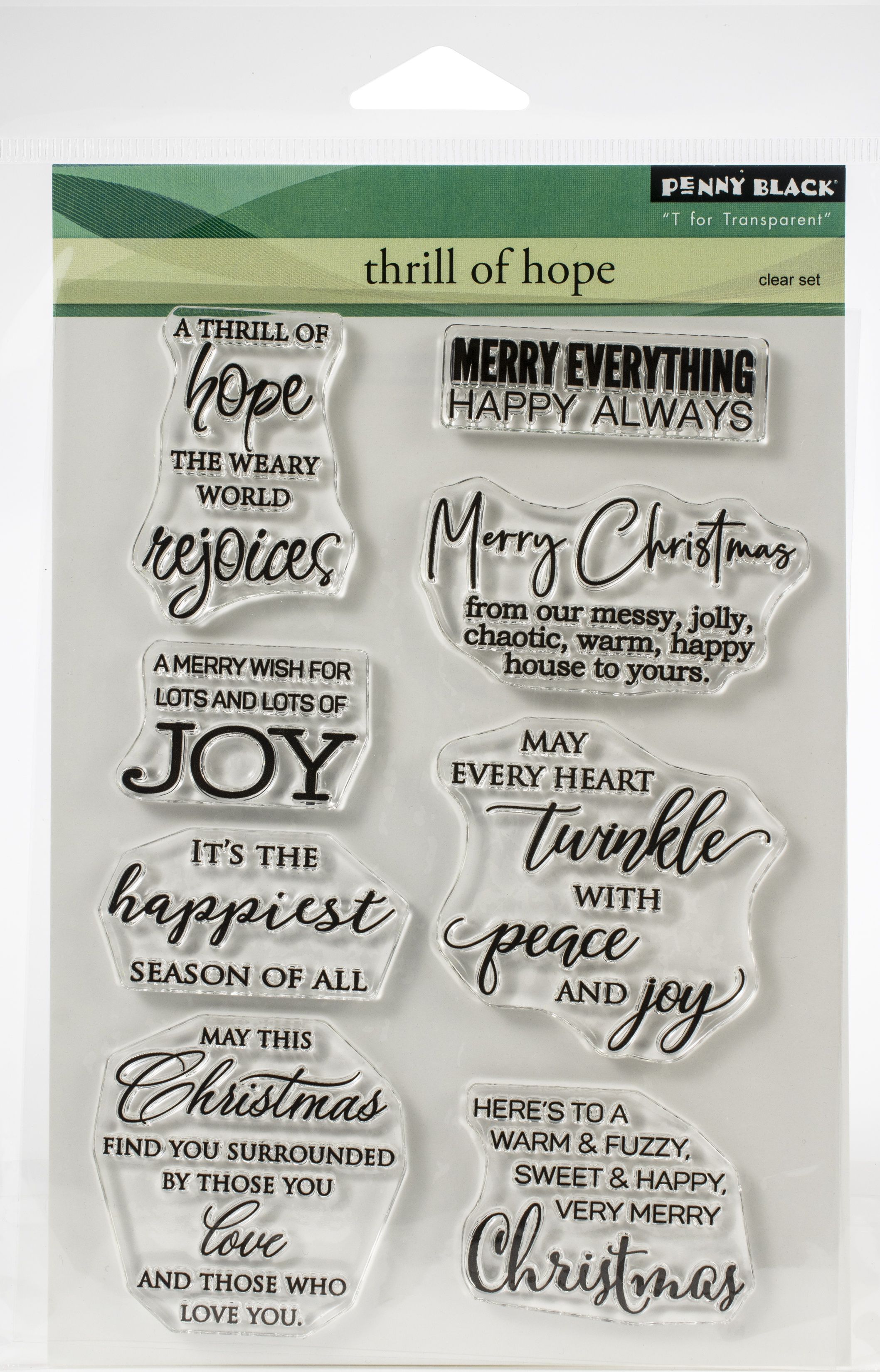Thrill Of Hope Stamp Set