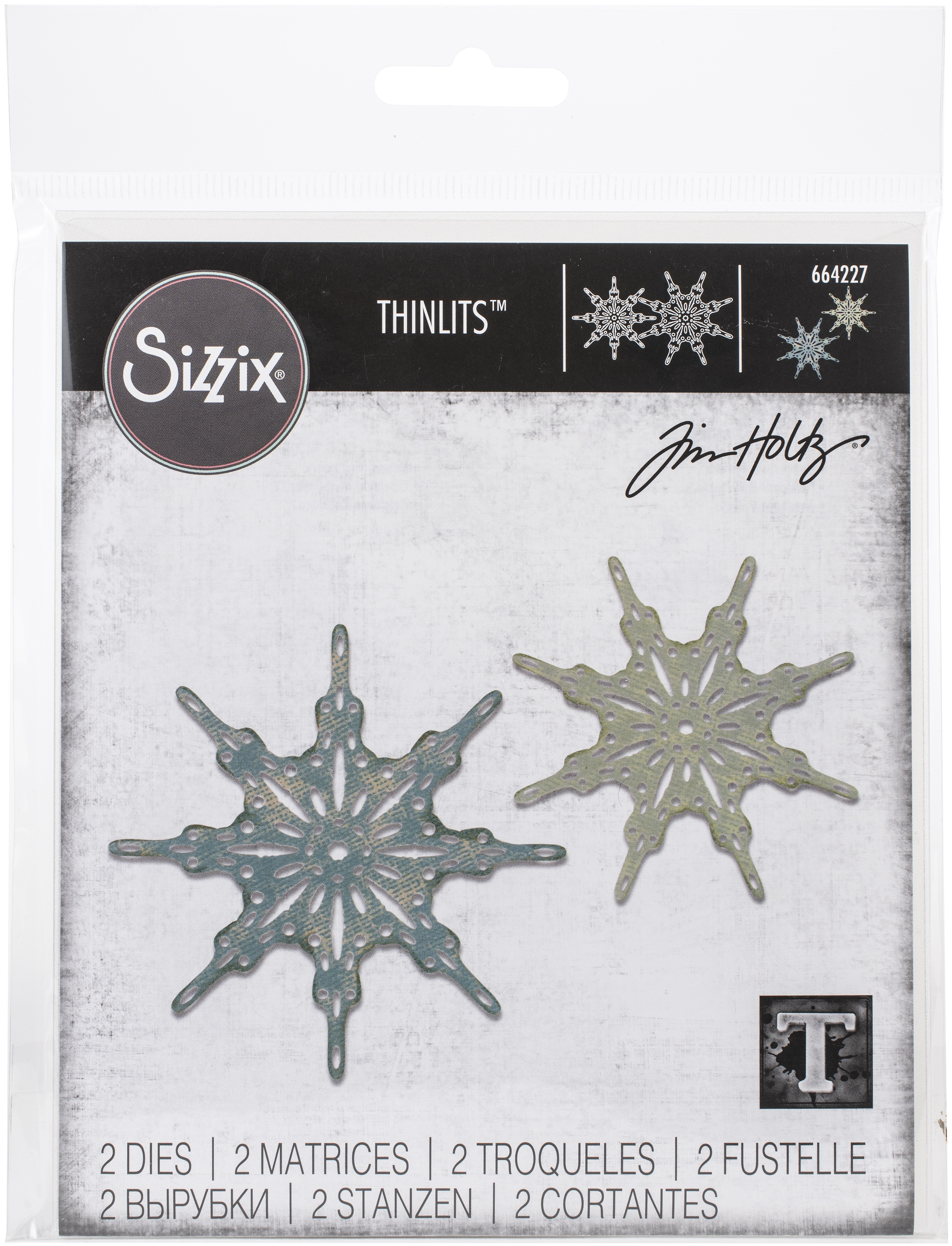 Fanciful Snowflakes Die Set