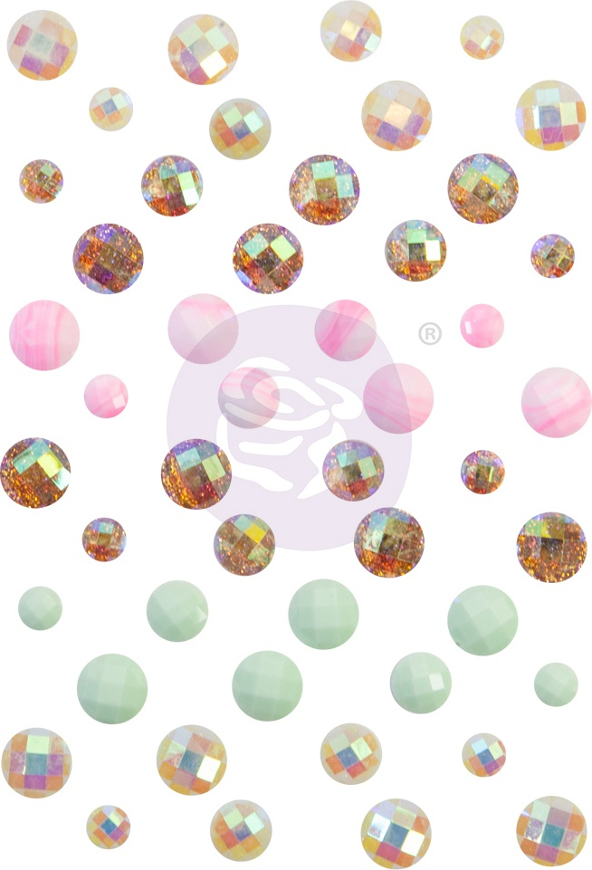 Dulce By Frank Garcia Say It In Crystals-Assorted Dots 48/Pkg