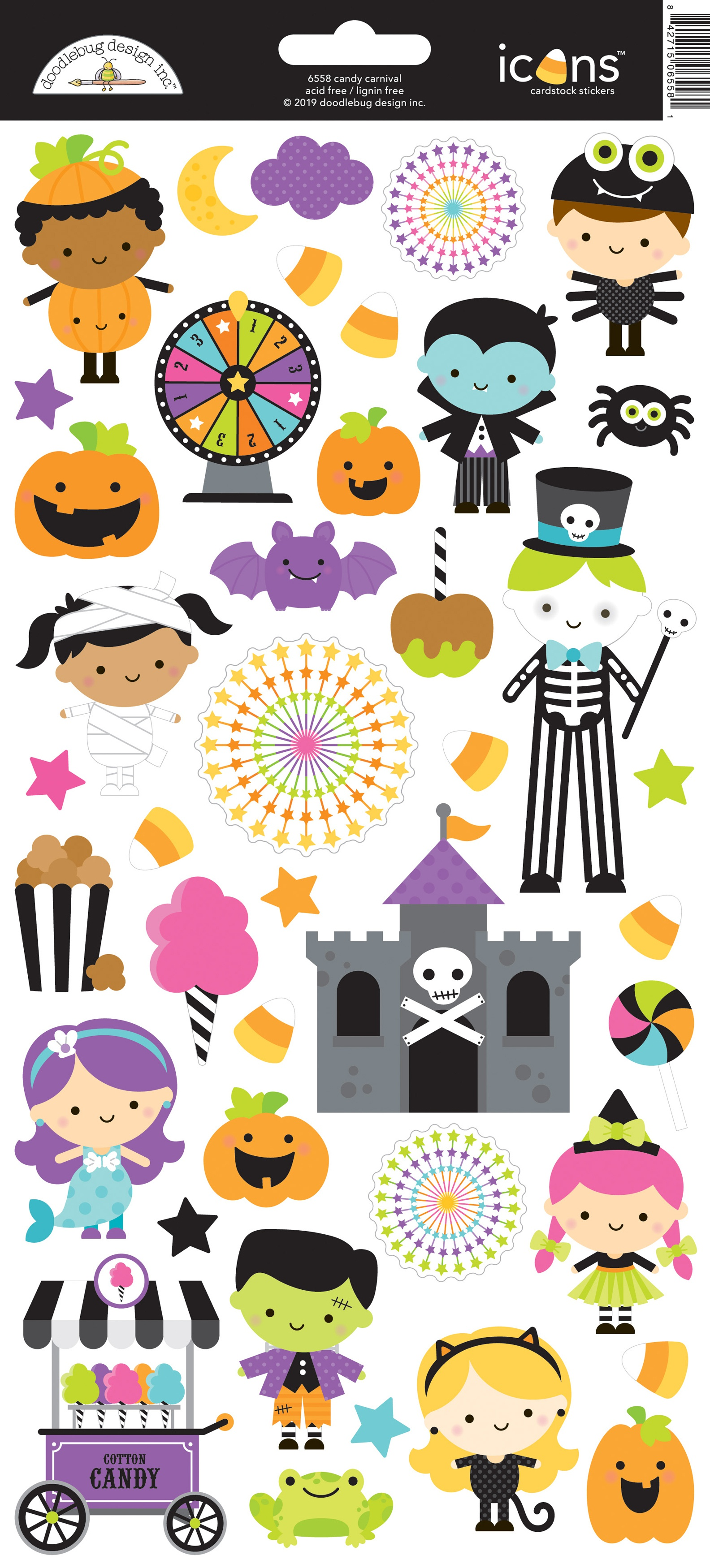 Candy Carnival Cardstock Stickers 6X13