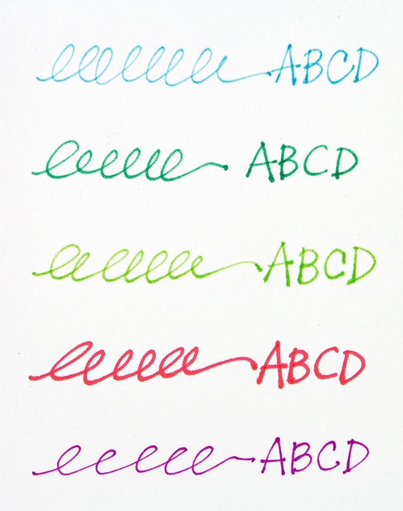 Jane Davenport Inkredible Ink Cartridges 10/Pkg-Brights - 2 Each Of 5 Colors
